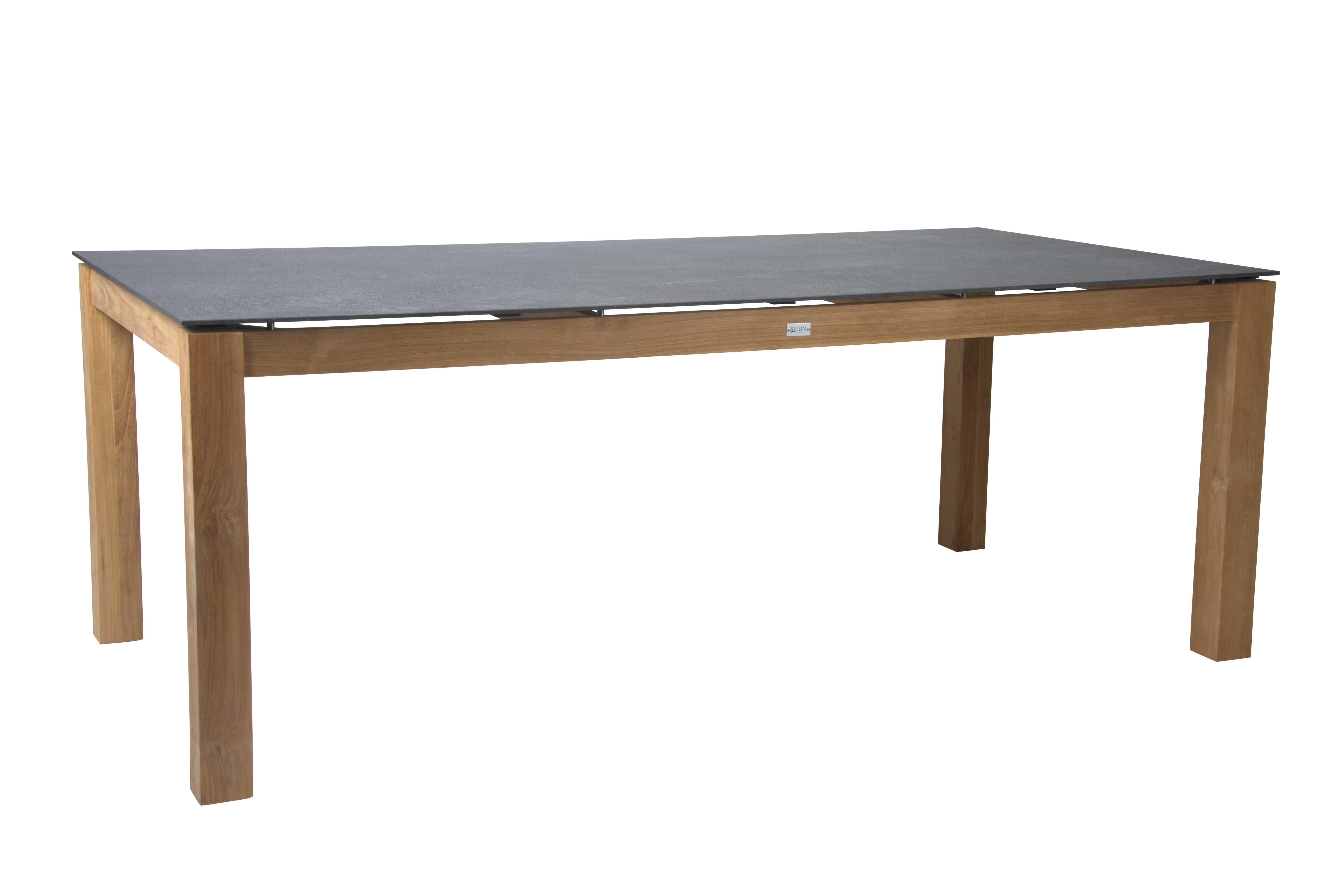 Tische Tisch 200x100 cm Teak mit