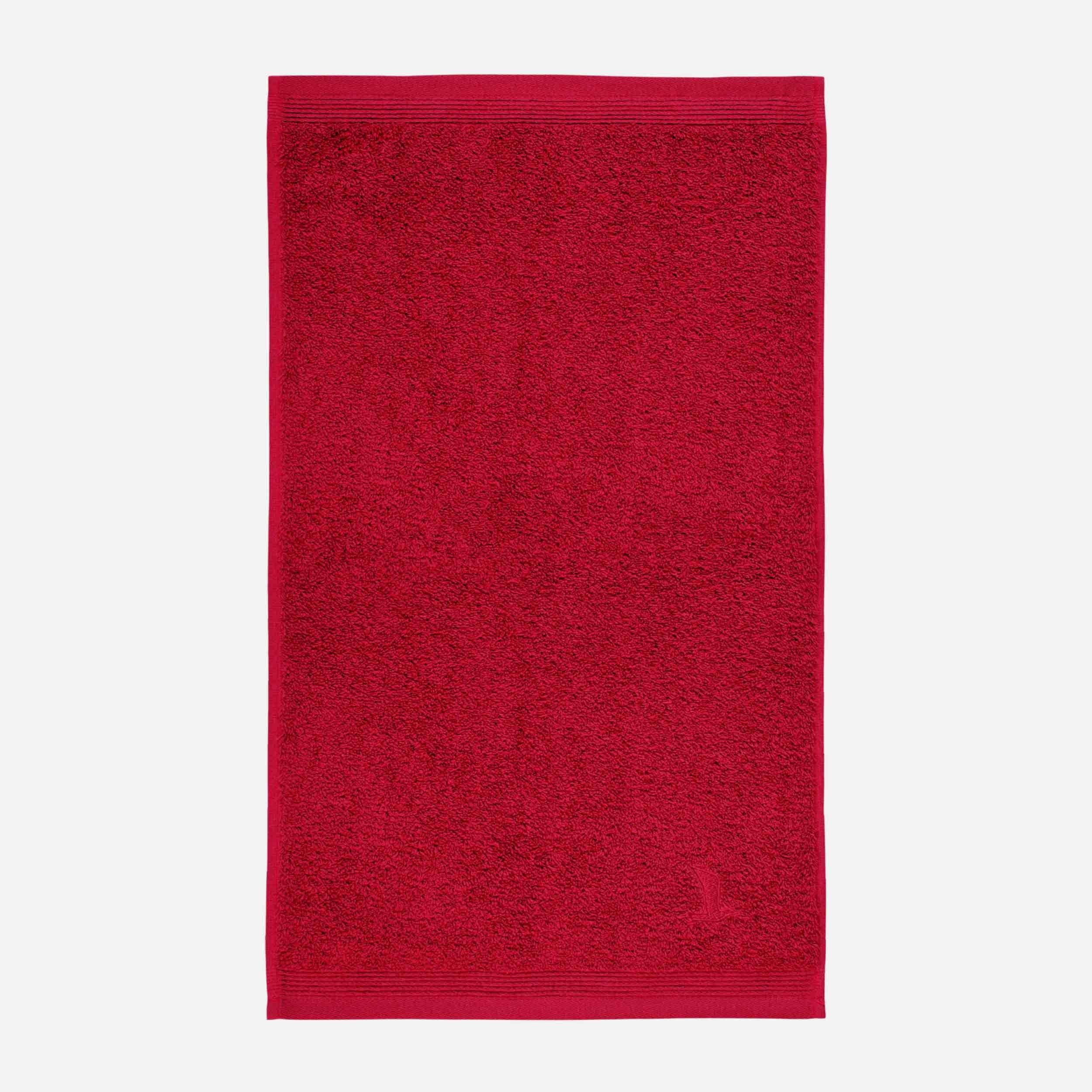 Gästetuch 30x50cm,Superwuschel ruby