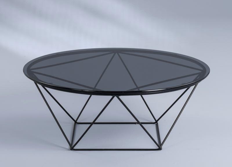 Couchtisch Nairo 2,schwarz,Metall