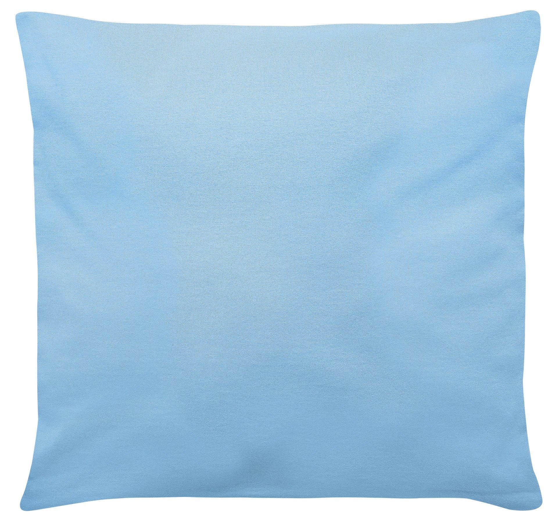 Edel-Zwirn-Jersey hellblau B40cm