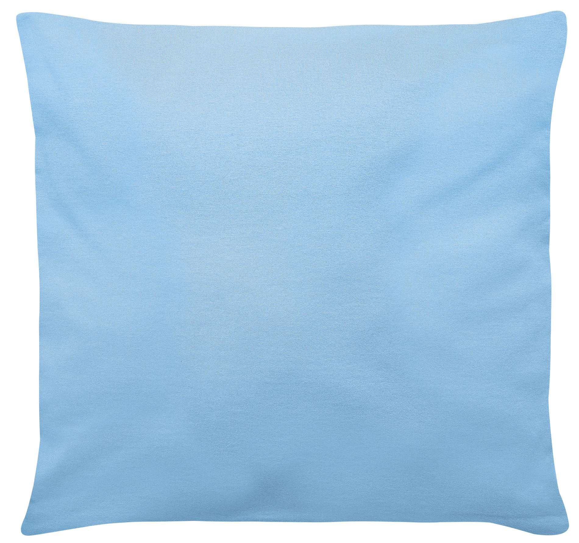 K.-Bezug hellblau 40x40cm