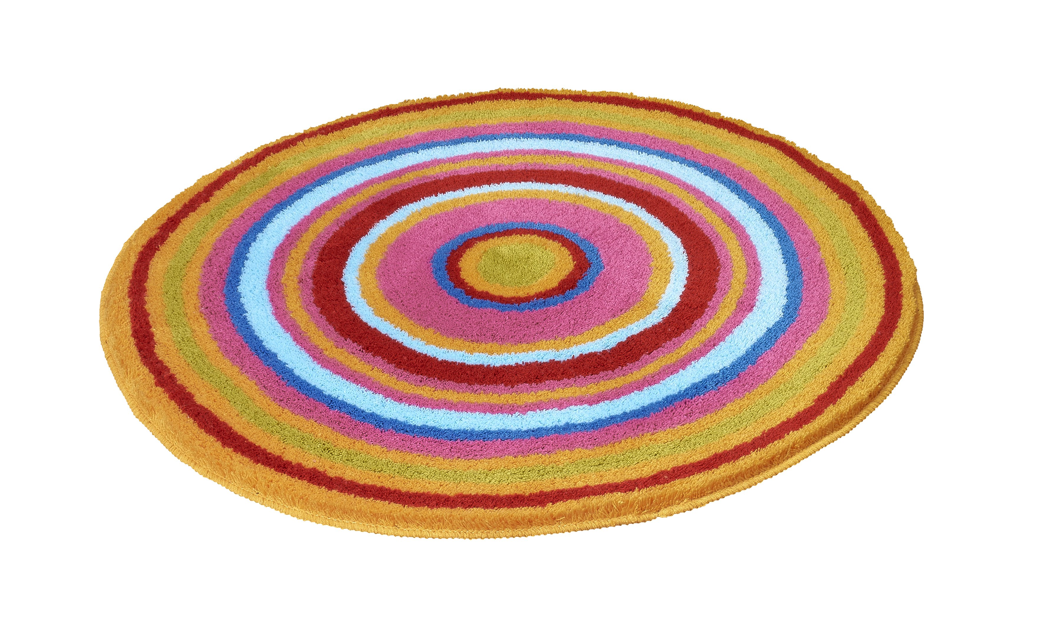Badteppich Mandala Multicolor B:80cm