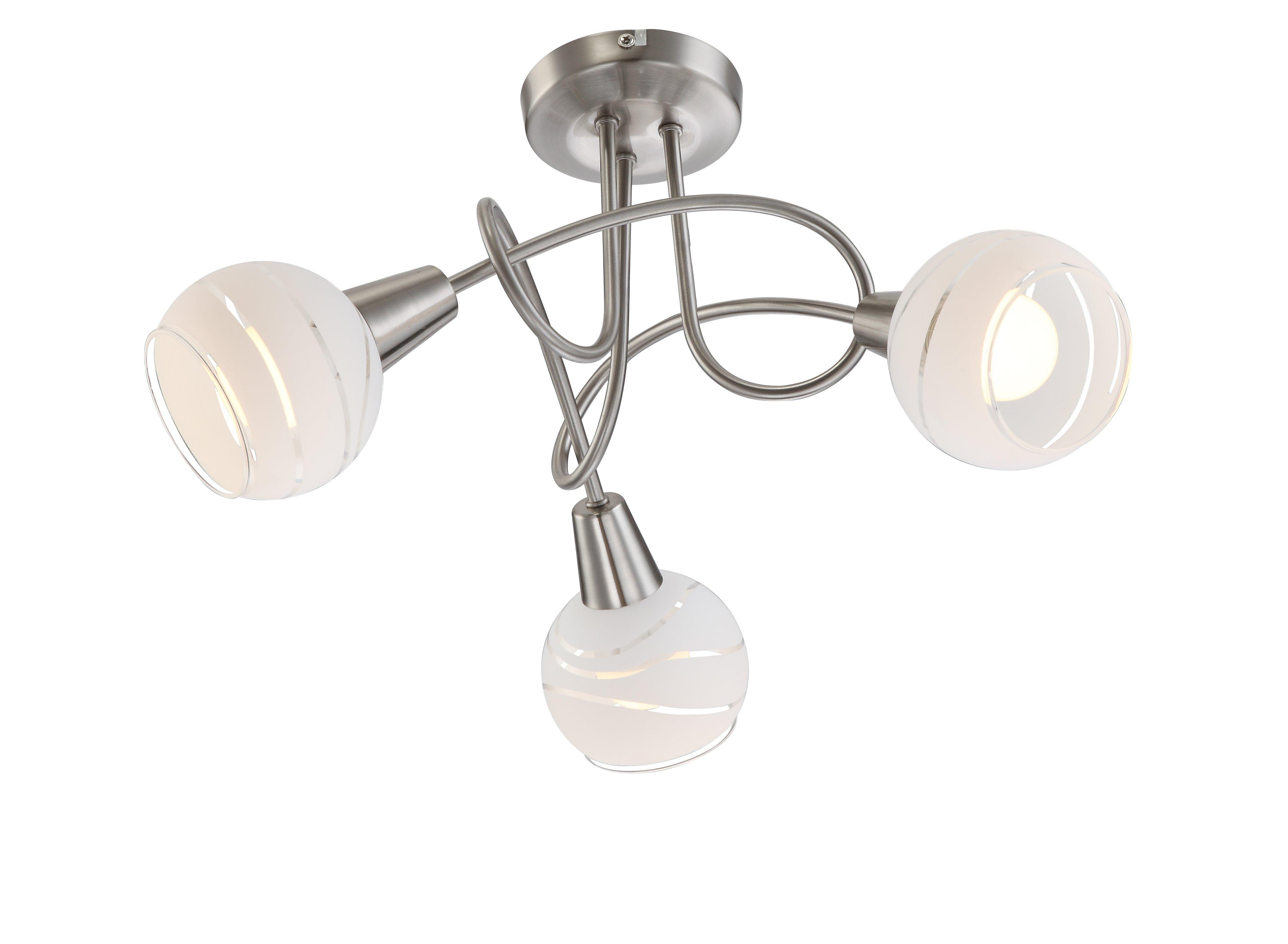 LED-Strahler,3flg H25 D39_Met., Metallfarben