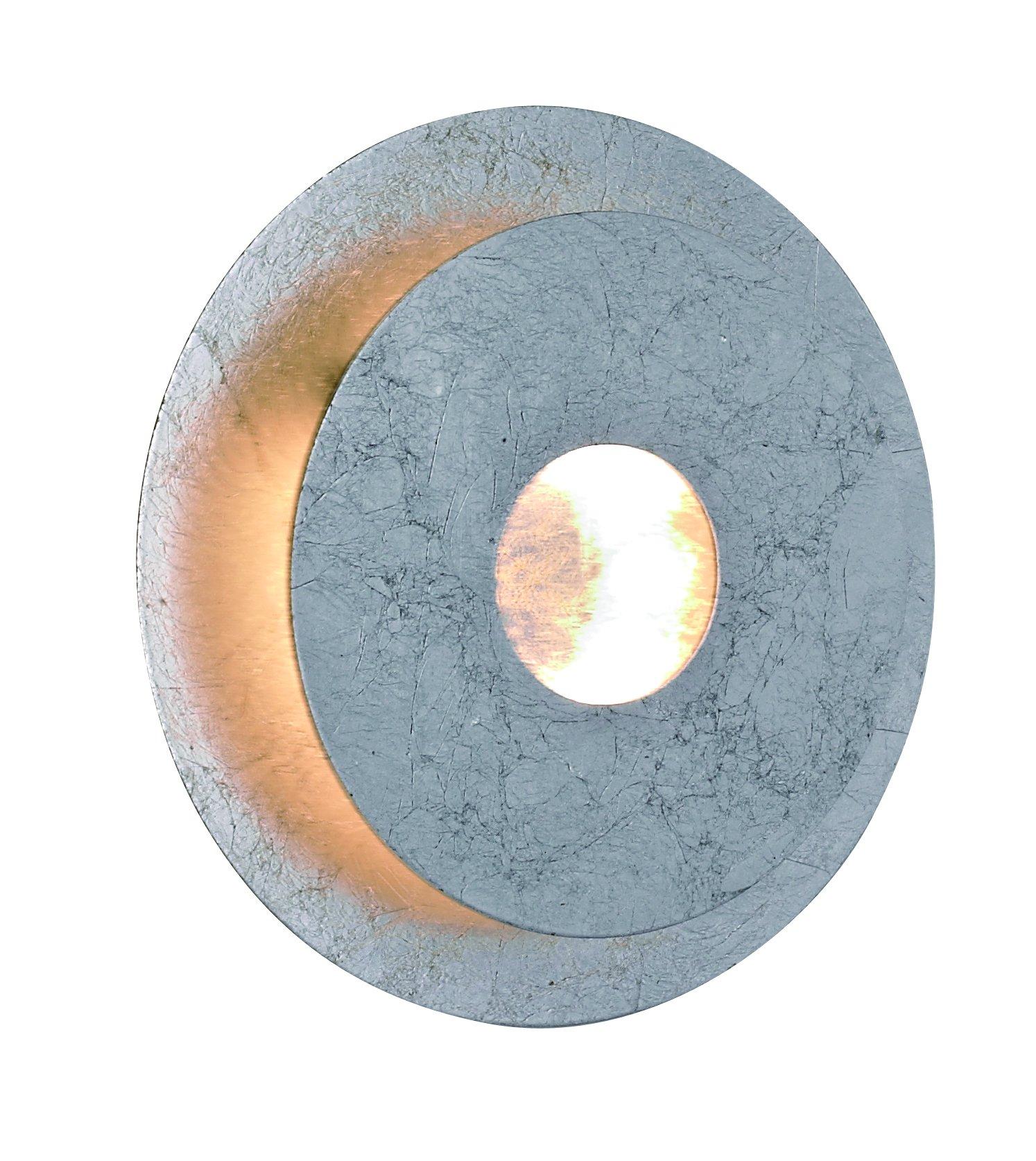Wandleuchte Afir 1flg Silberfarbig
