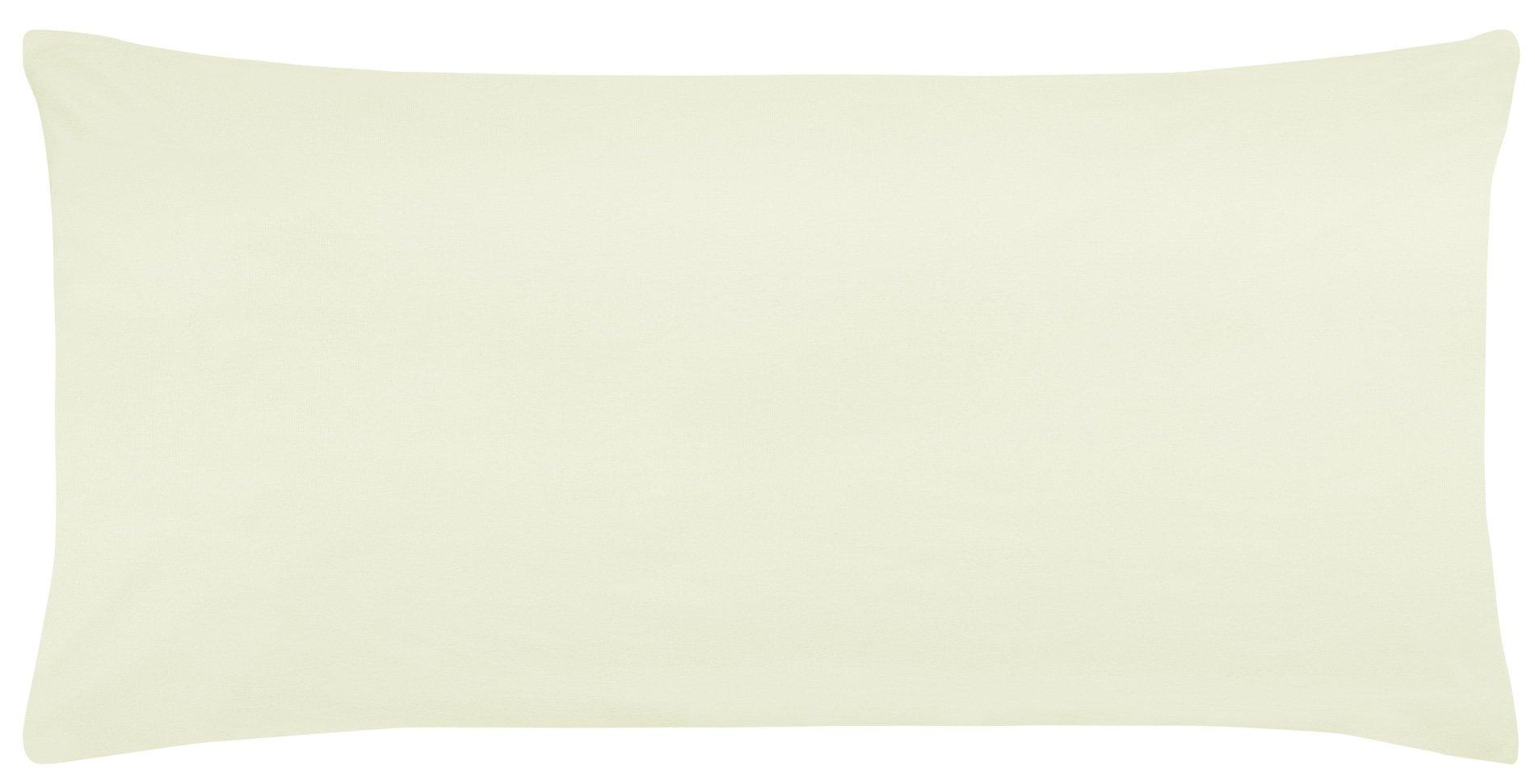 Edel-Zwirn-Jersey natur B40cm