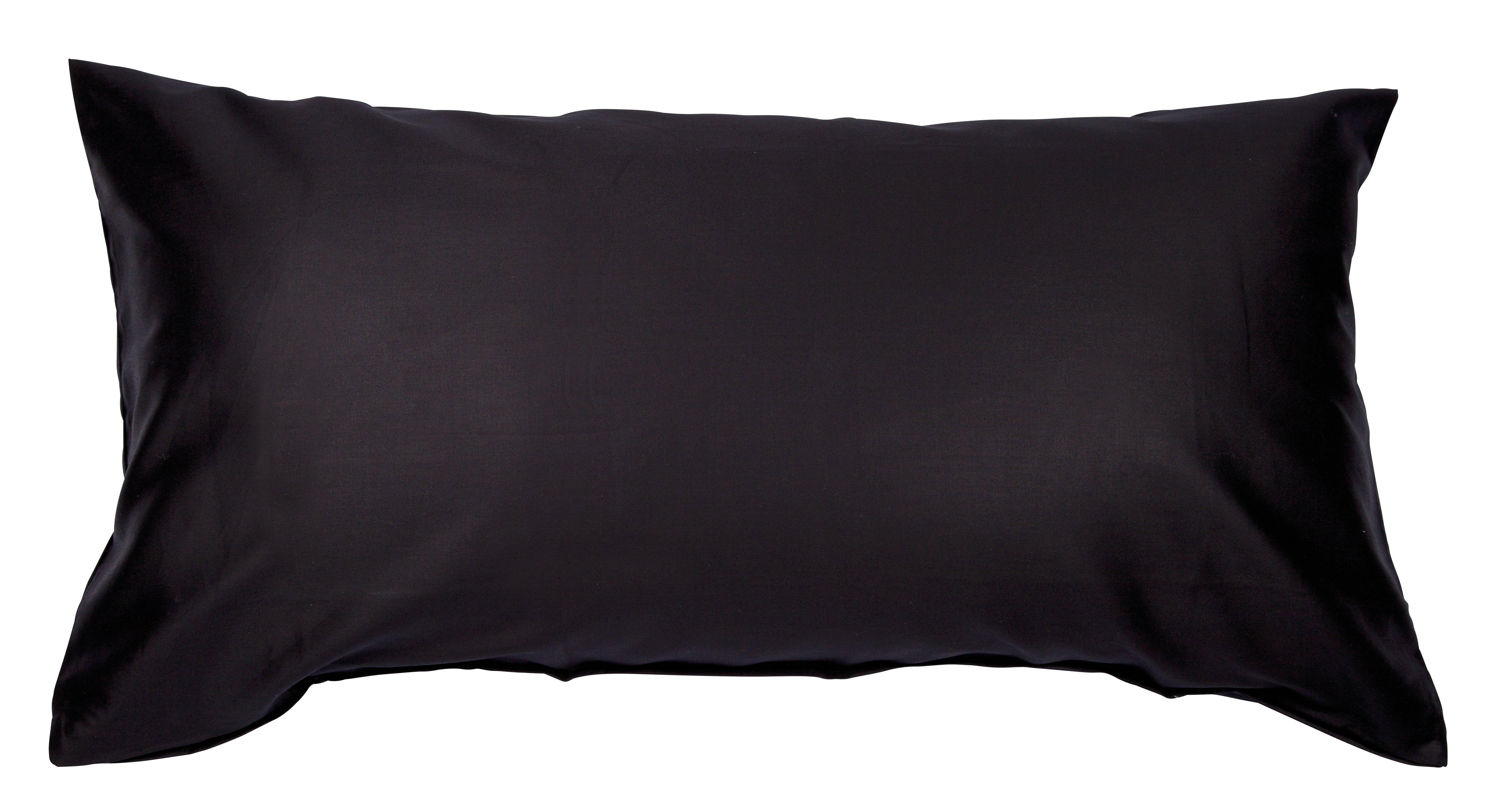 Colors Mako-Satin K.-Bezug 40x80cm schwarz