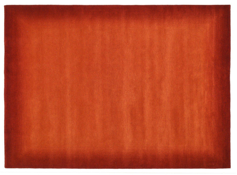 echter original handgeknüpfter Nepal-Teppich VINCIANO TAMI rot