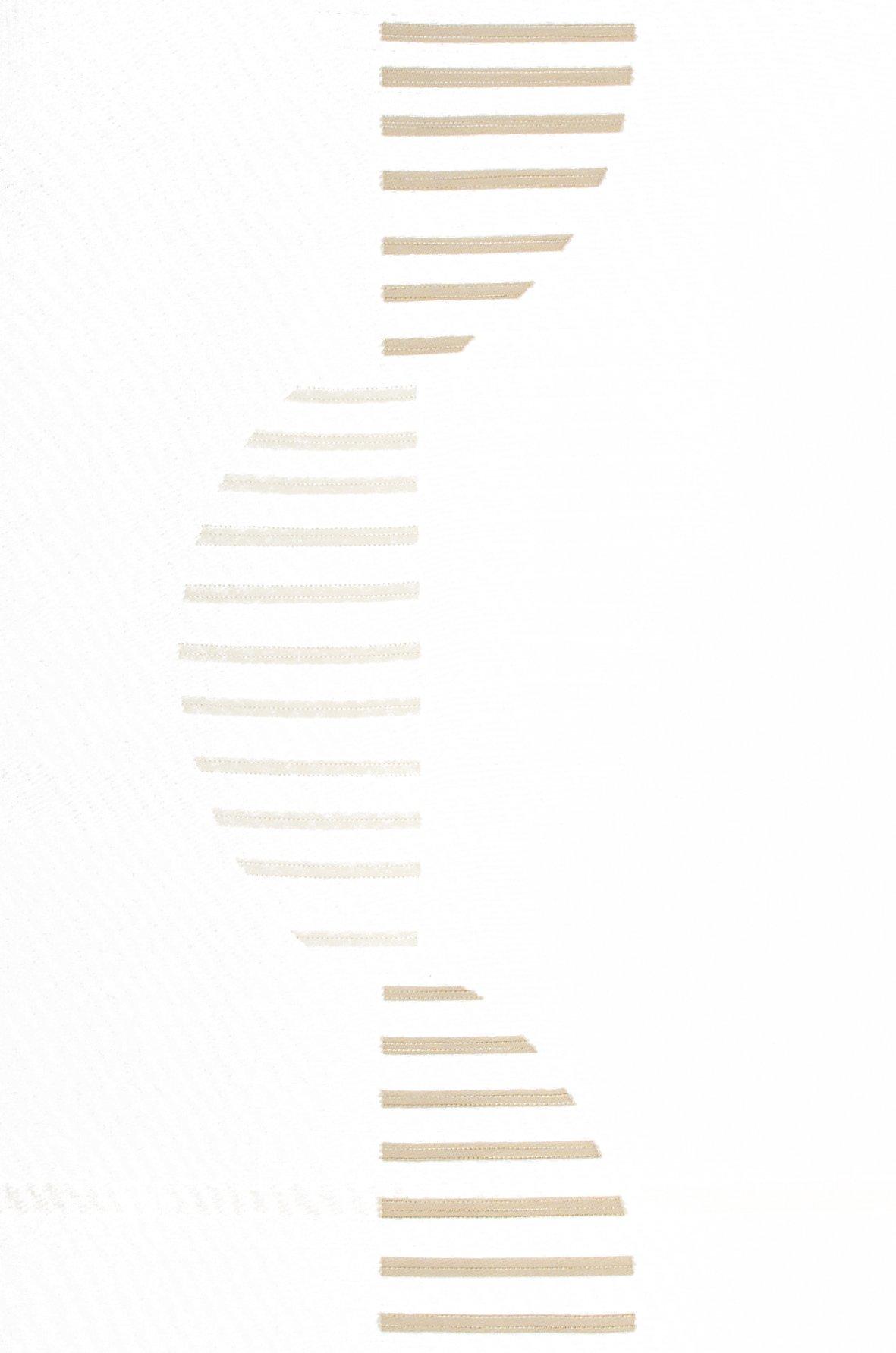 Schiebevorhang mit Alupaneelwagen INTRO wollweiß-braun
