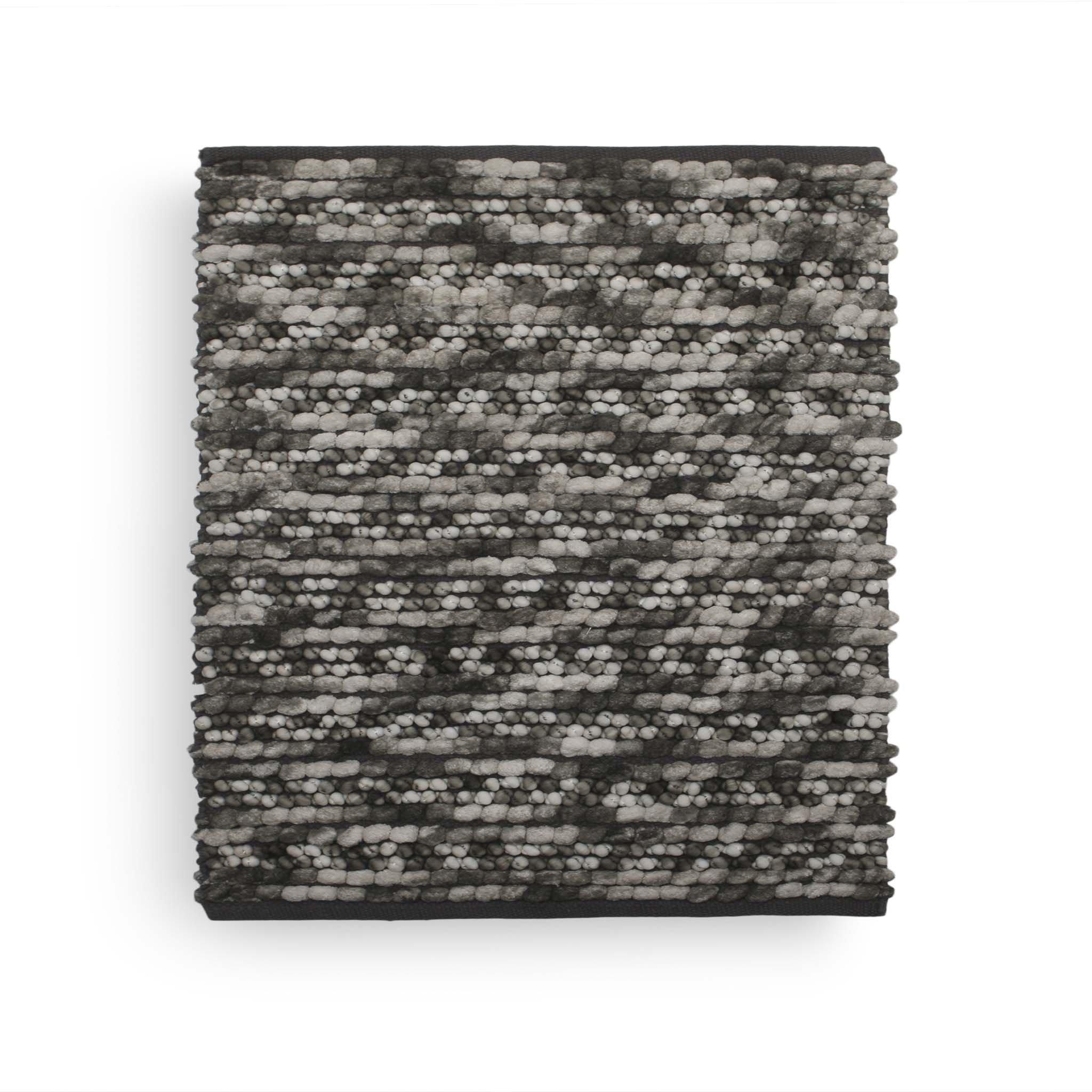 Brenda Badematte 60x60 Dark Grey