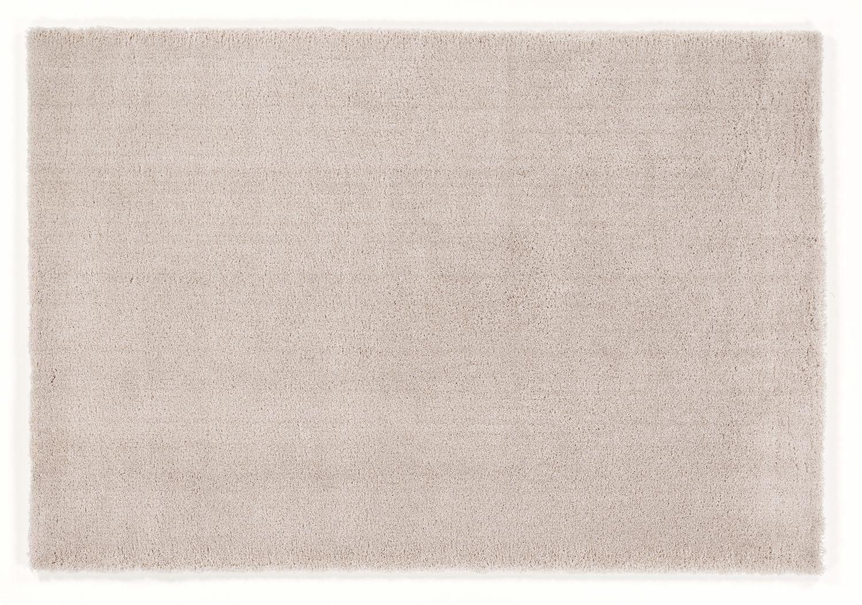 weicher Shaggy Hochlor Langflor Teppich ROYAL UNI beige-mix
