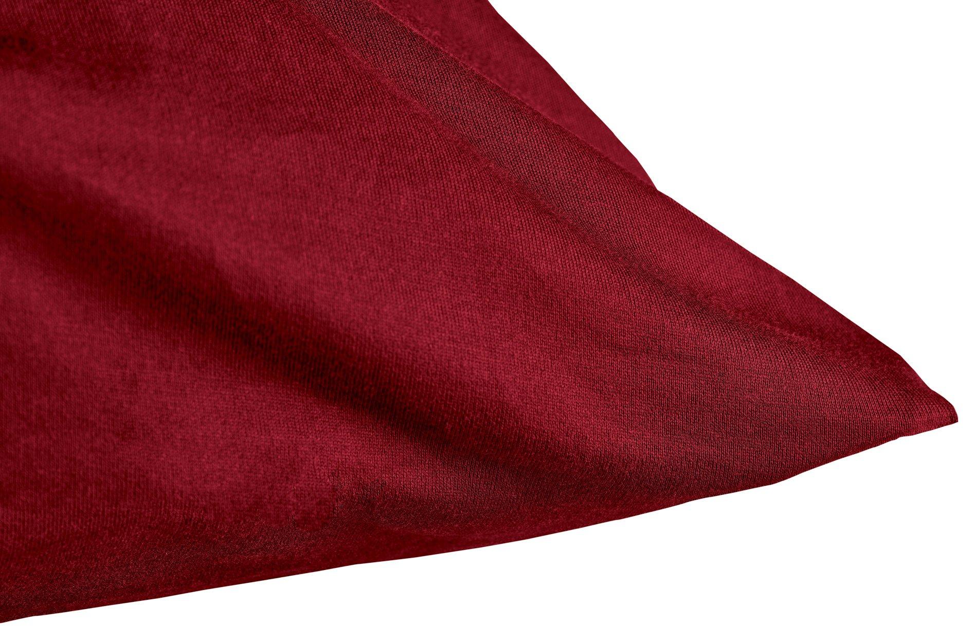 Edel-Zwirn-Jersey karmin B40cm
