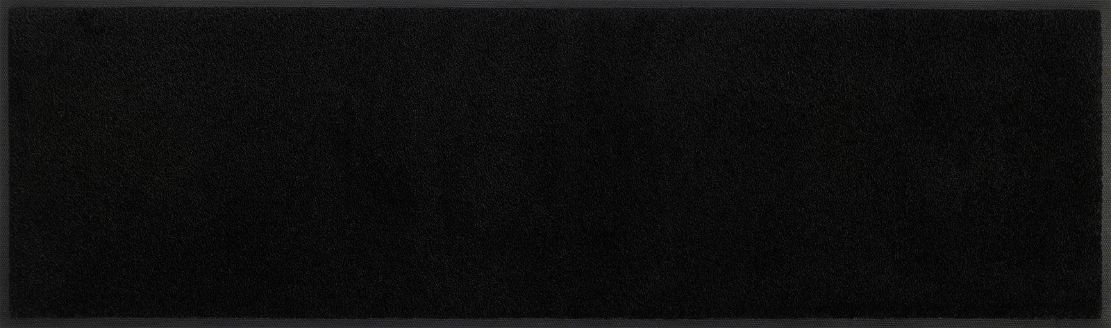 Matte, Schwarz 35x120