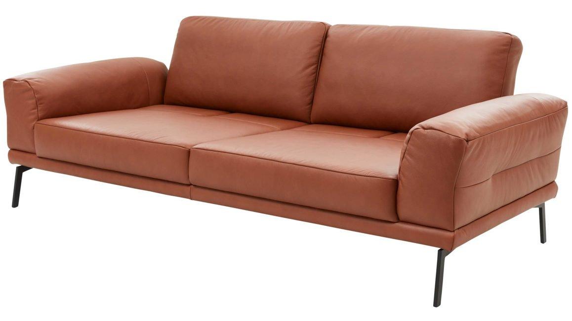 Sofa Interliving-4102 Leder Mercury Brandy Preisgruppe J