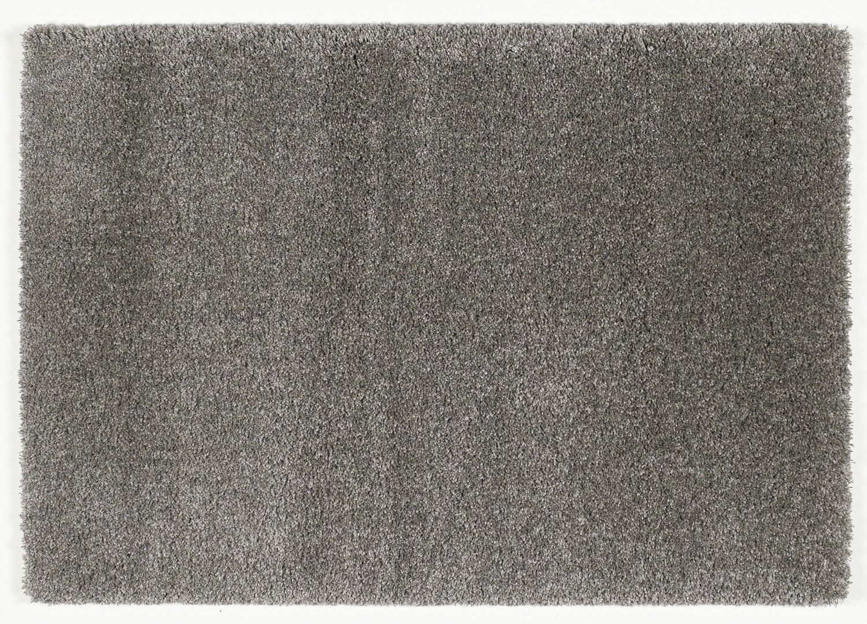 Hochflor Langflor Teppich LOBBY SHAGGY grau