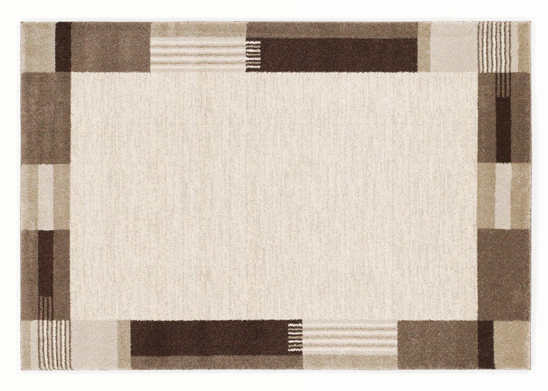 moderner Designer Teppich VILLA MODA beige-braun