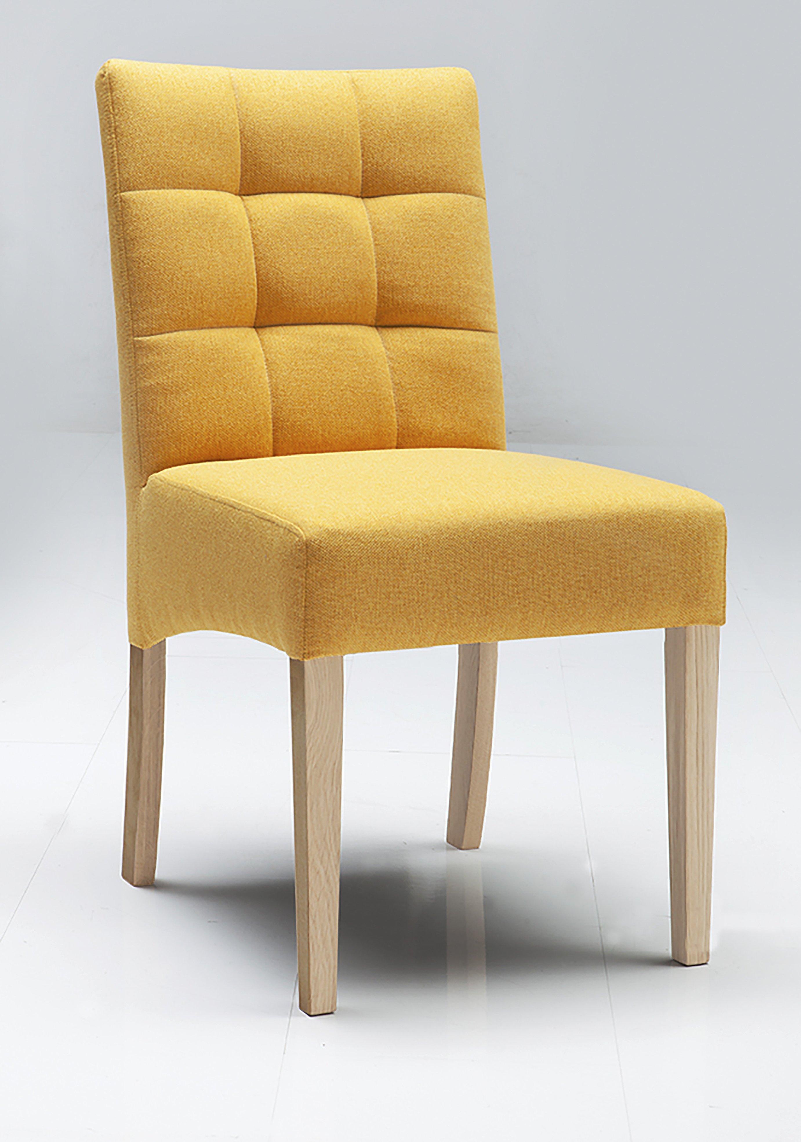 Polsterstuhl Capi  Holz/Eiche,Kunstfaser (Chemiefaser),Mikrofaser (Textilfaser)