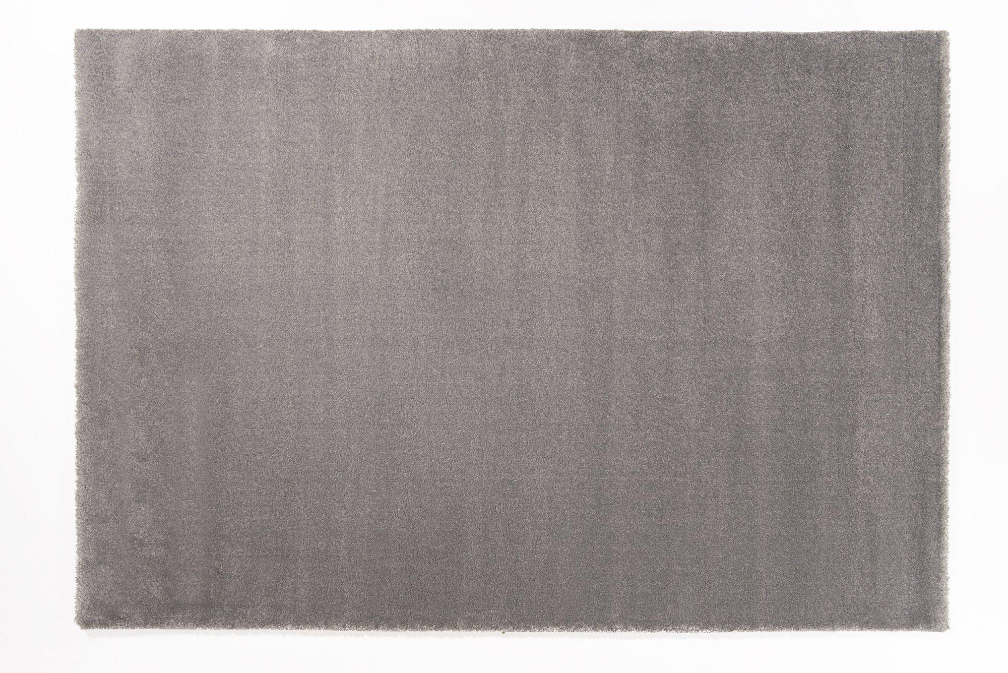 moderner Designer Teppich BELLEVUE grau