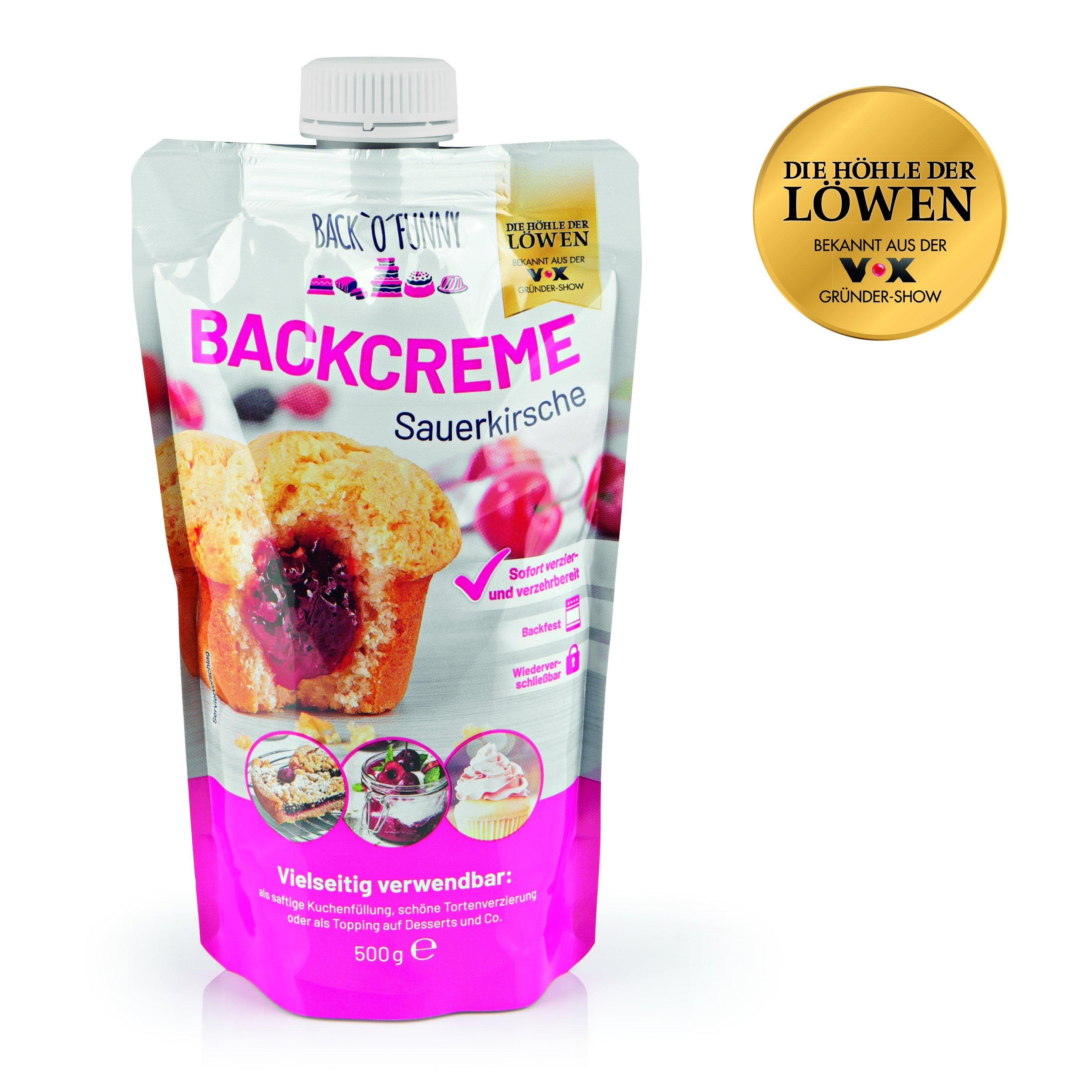 Back o Funny Backcreme Sauerkirsche 500g