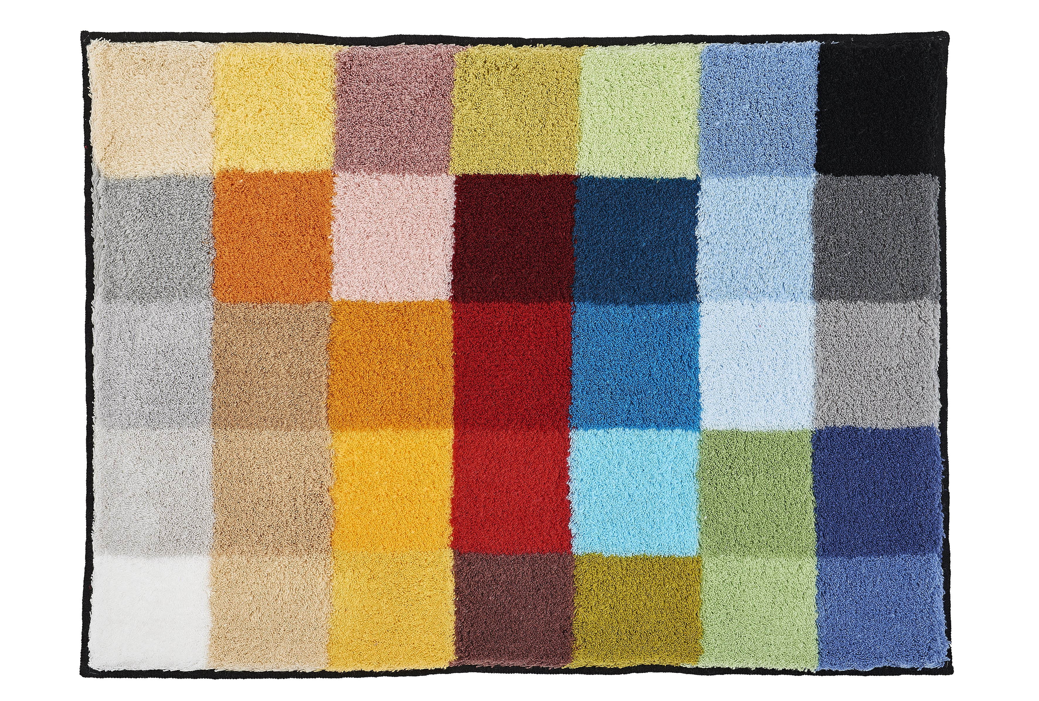 Badteppich Cubetto Multicolor B:65cm