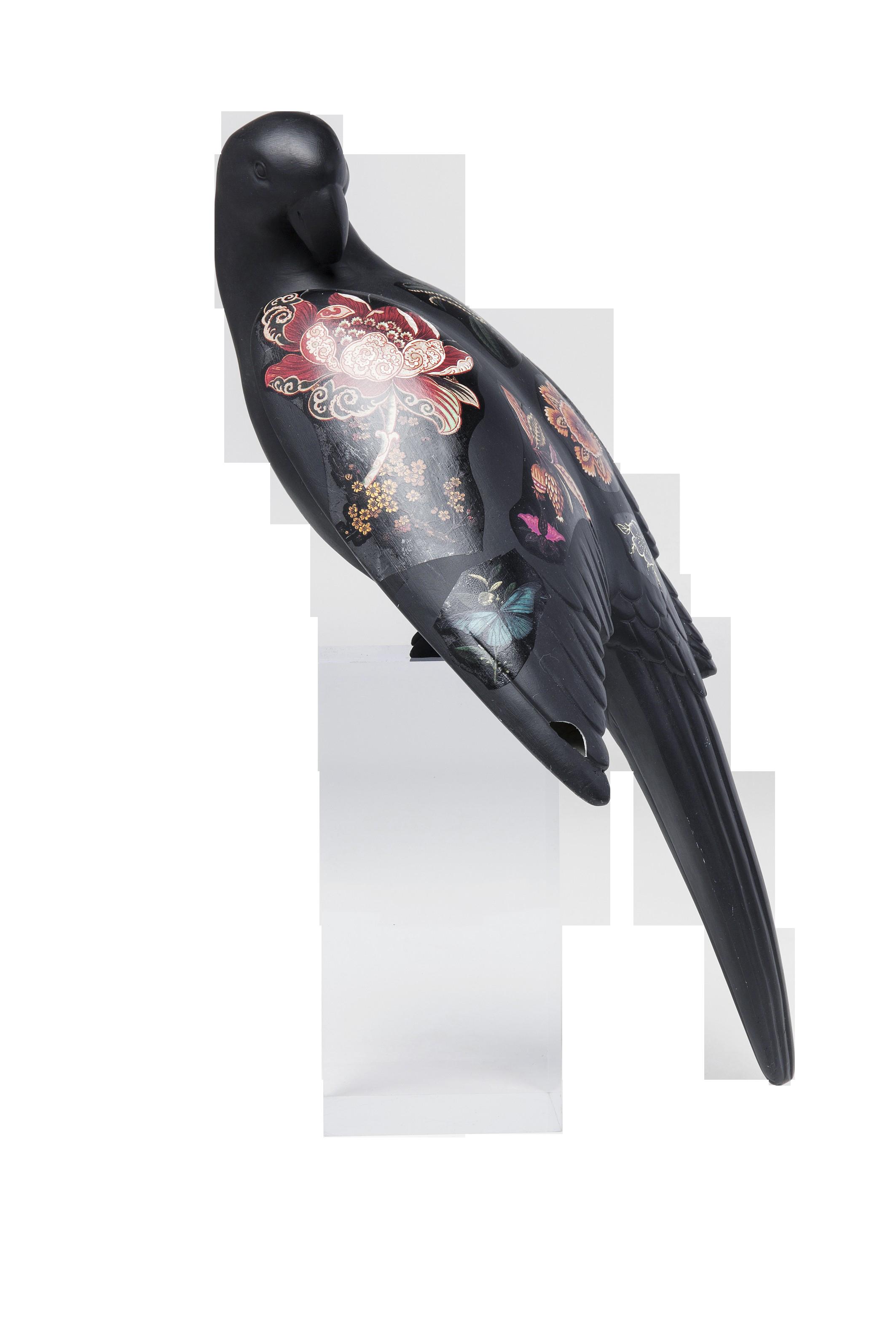 Deko Objekt Flower Parrot