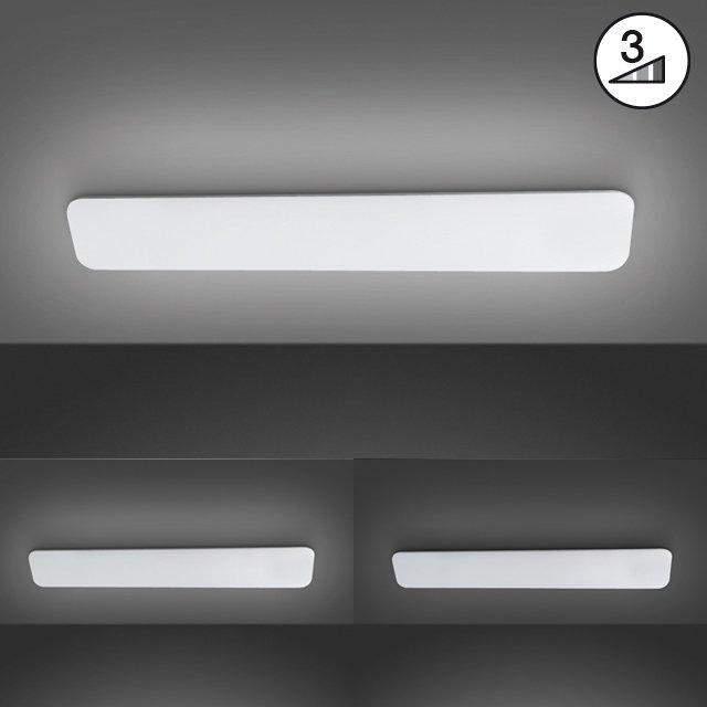 Deckenleuchte Aldo  Ausladung Decke: 6,0 cm | 1 x LED 28,0 W | über Wandschalter in 3 Stufen dimmbar,, 3000 K | 2900  lm