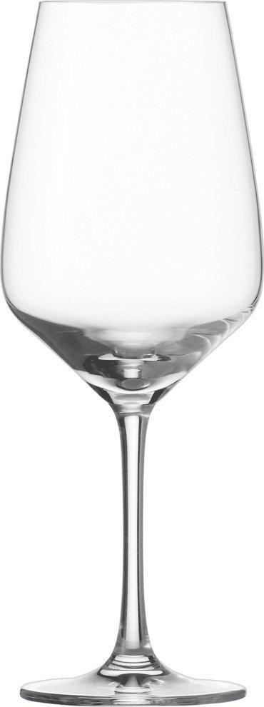 Rotweinglas klar