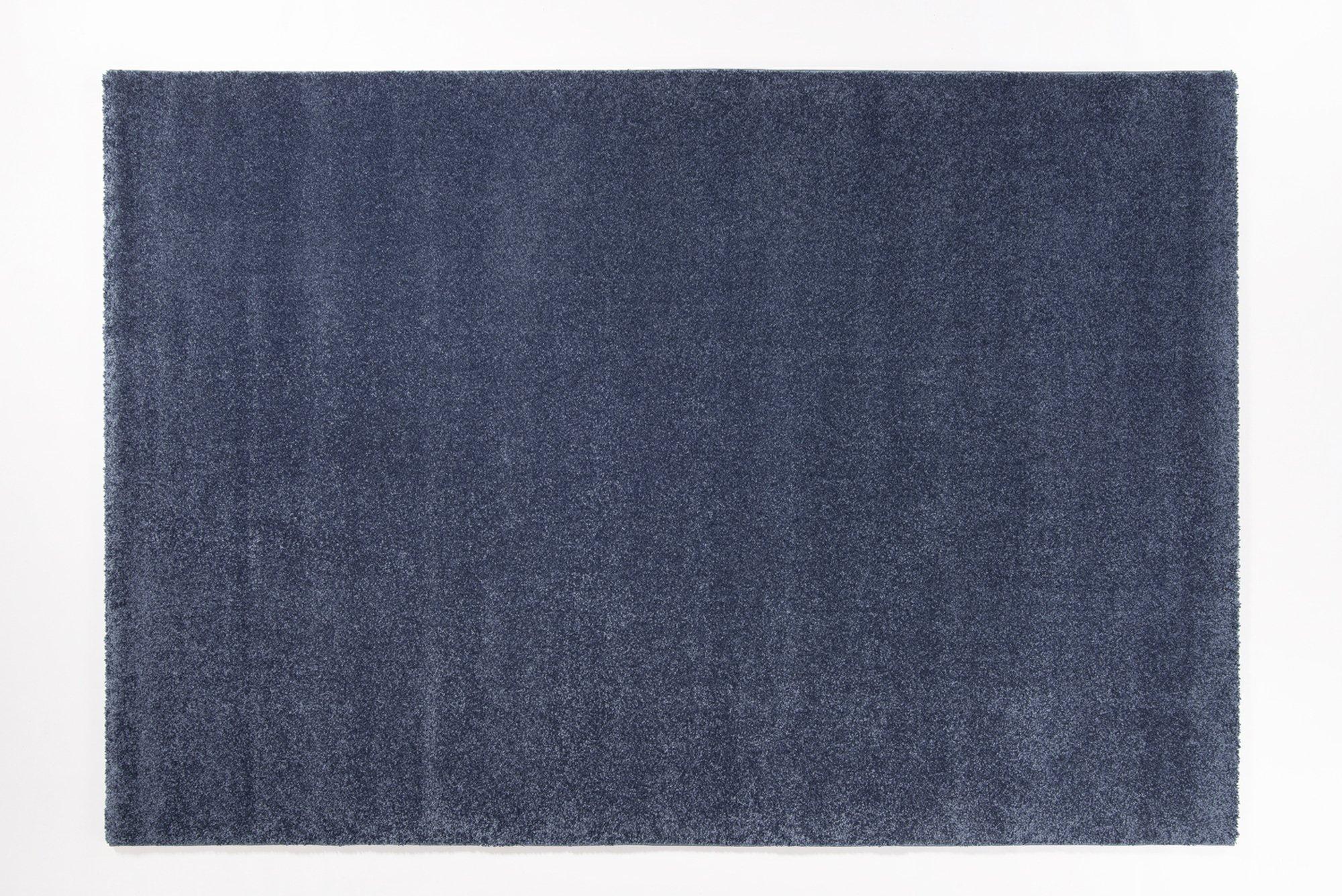 moderner Designer Teppich BELLEVUE blau