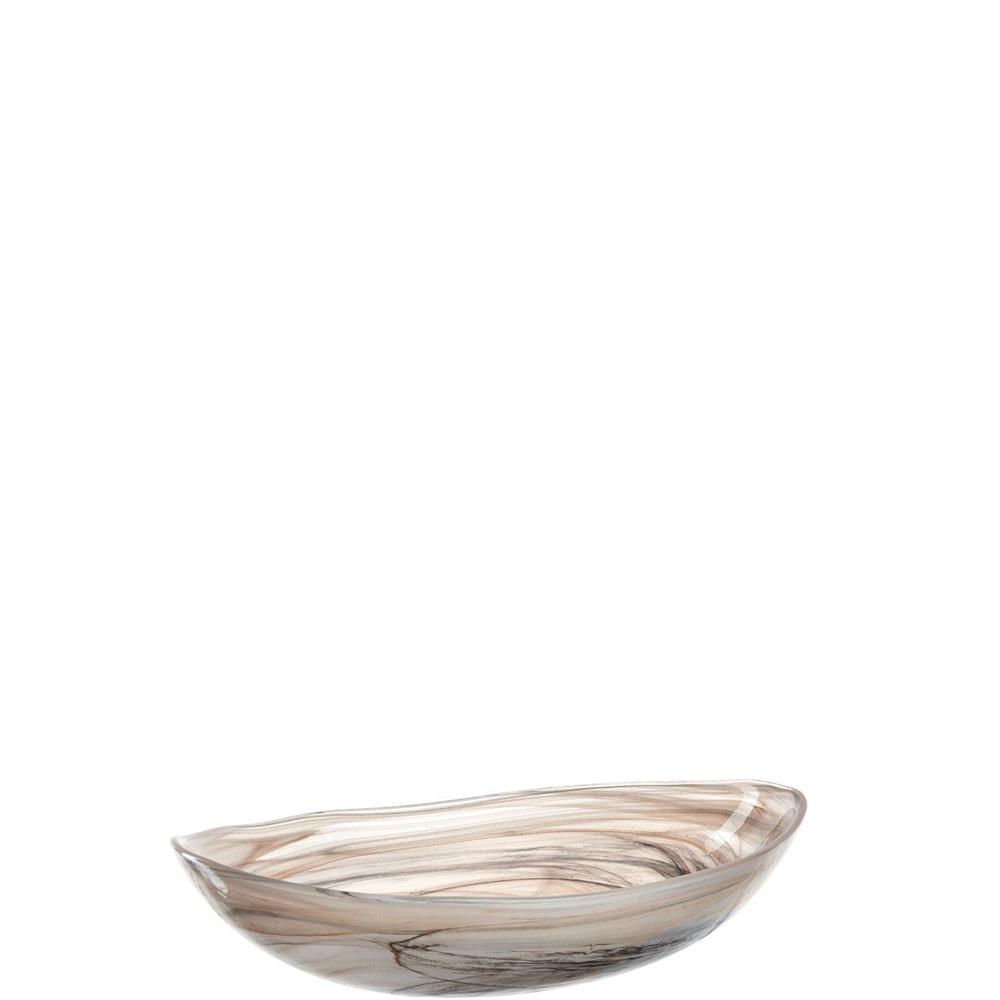 Schale oval 22 beige Alabastro ALABASTRO