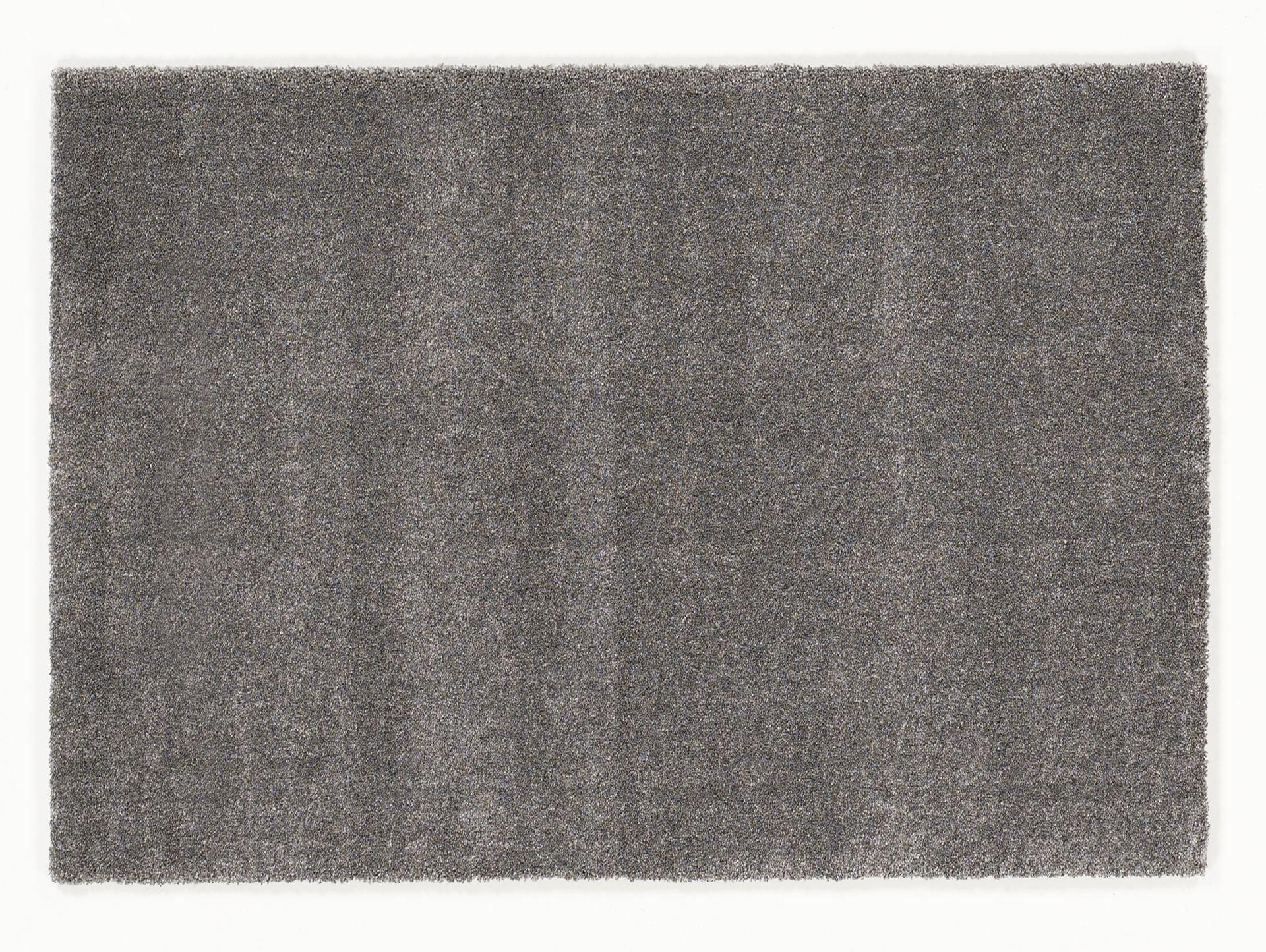 moderner Designer Teppich LOUVRE MELANGE grau