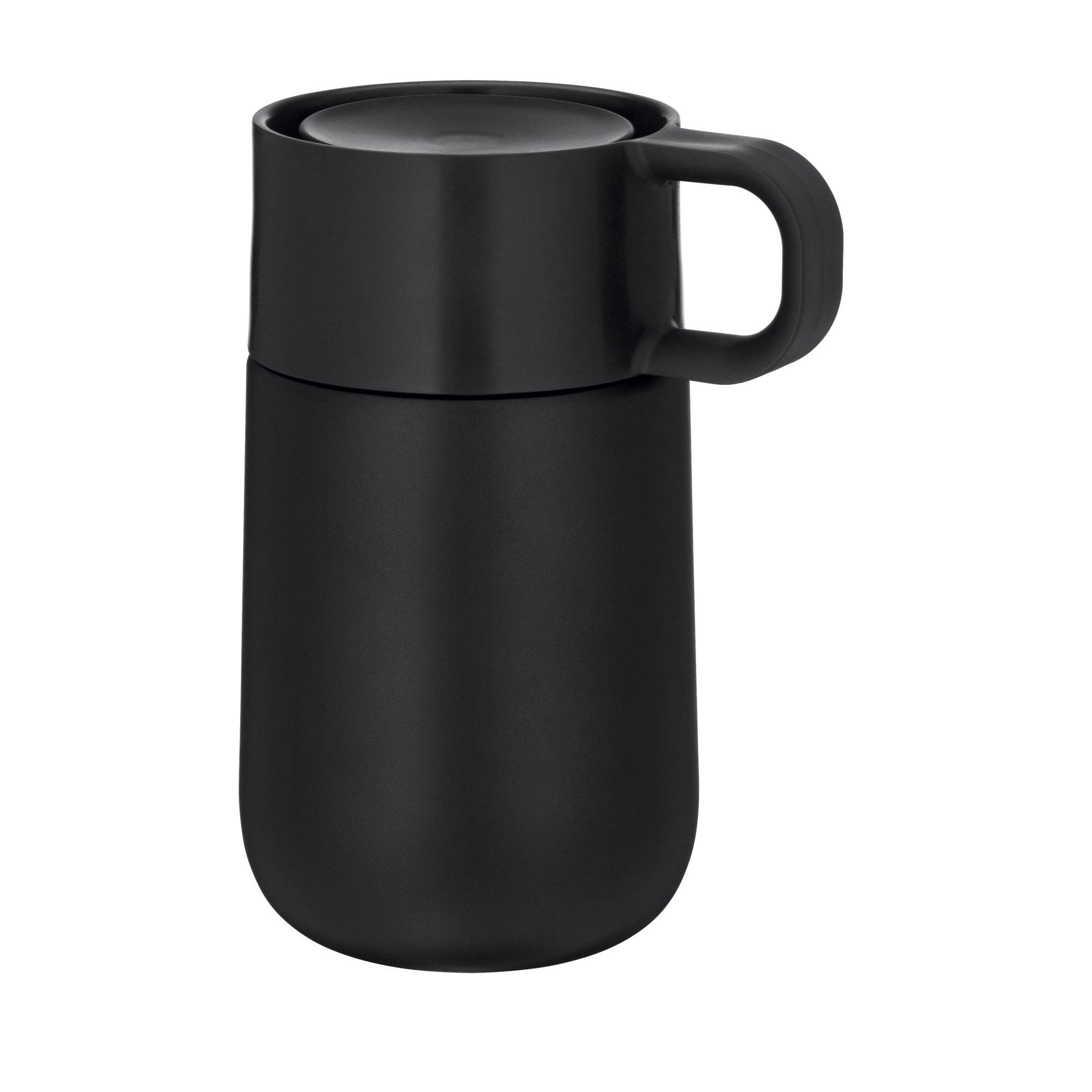 Travel Mug Thermobecher Impulse matt Schwarz