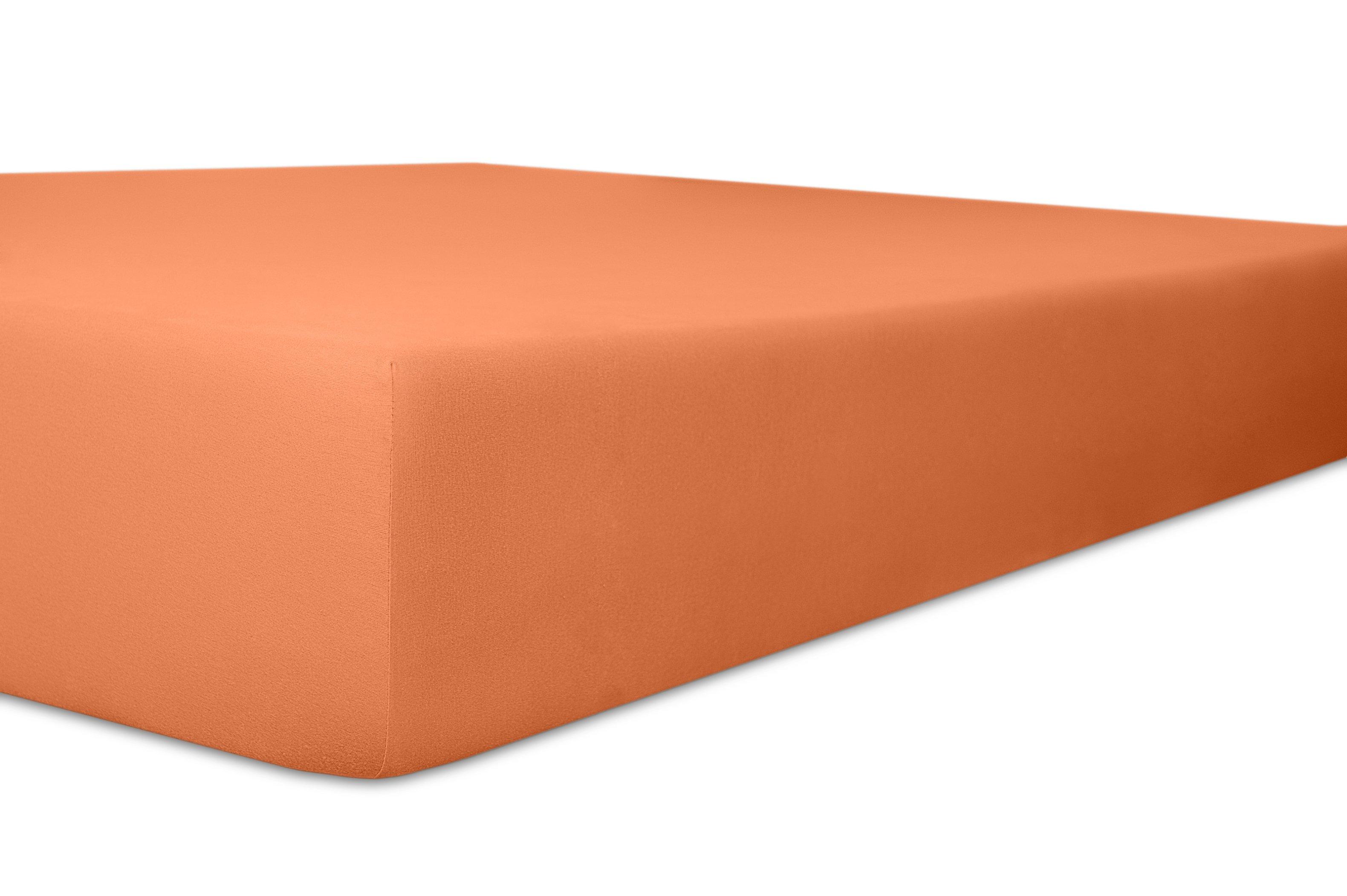 Spannbetttuch karamel,180x200cm