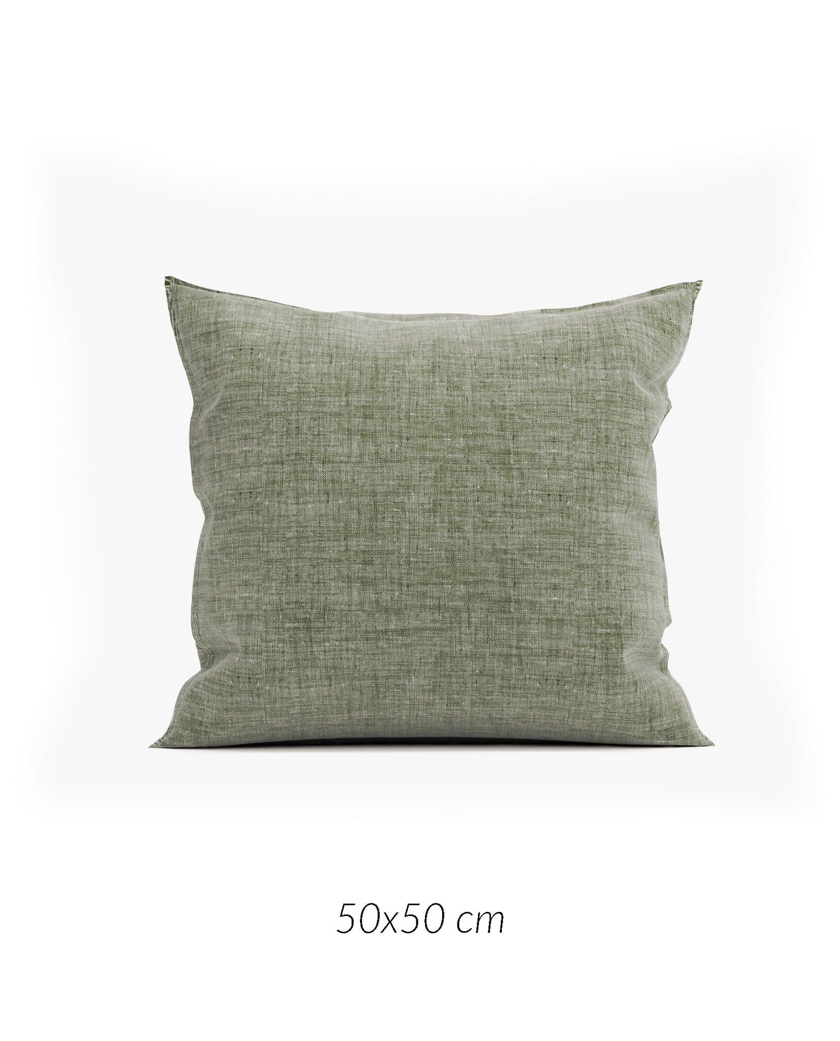Lino K.-Hülle 50x50cm Army Green