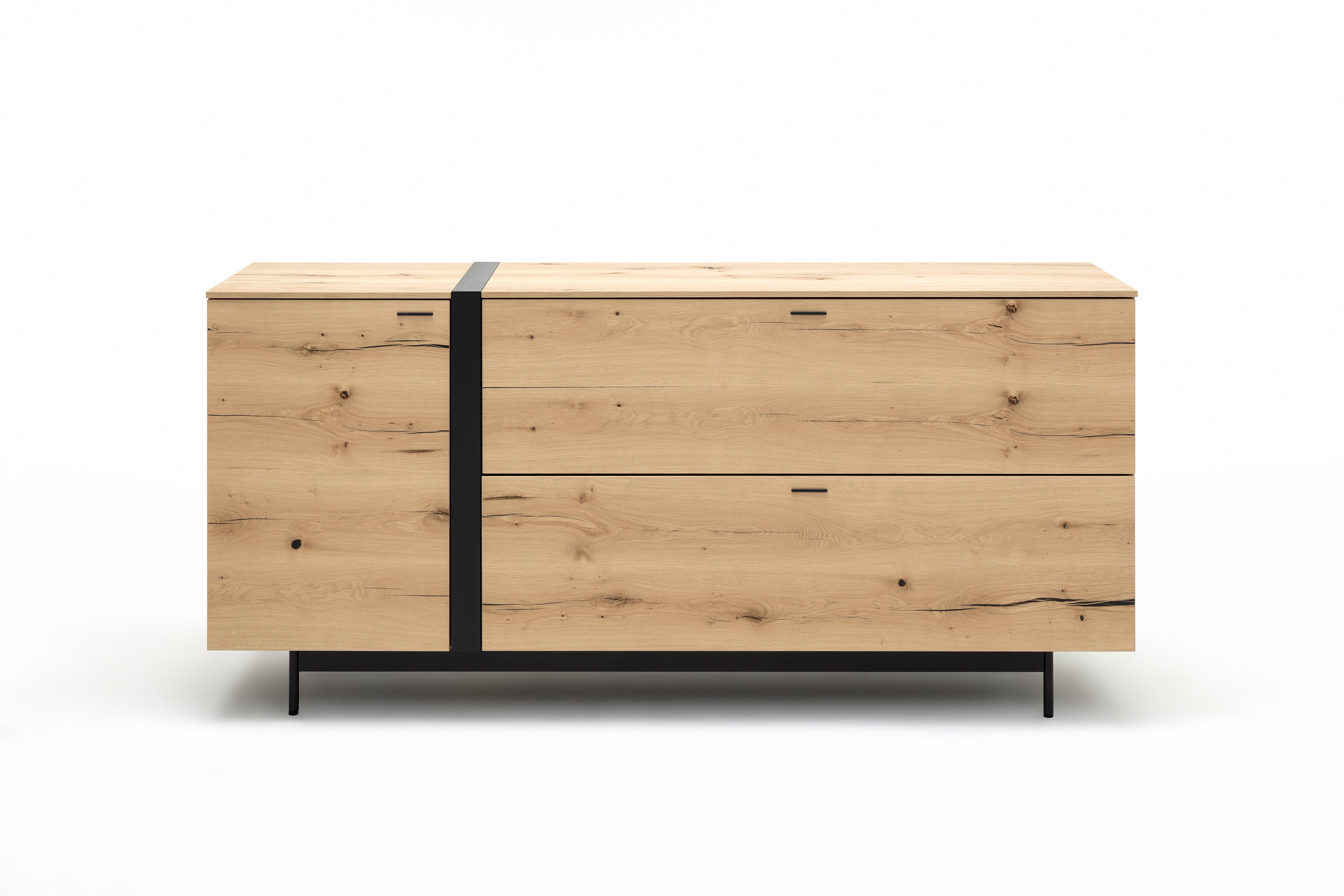 Sideboard mit Akzent-Streifen