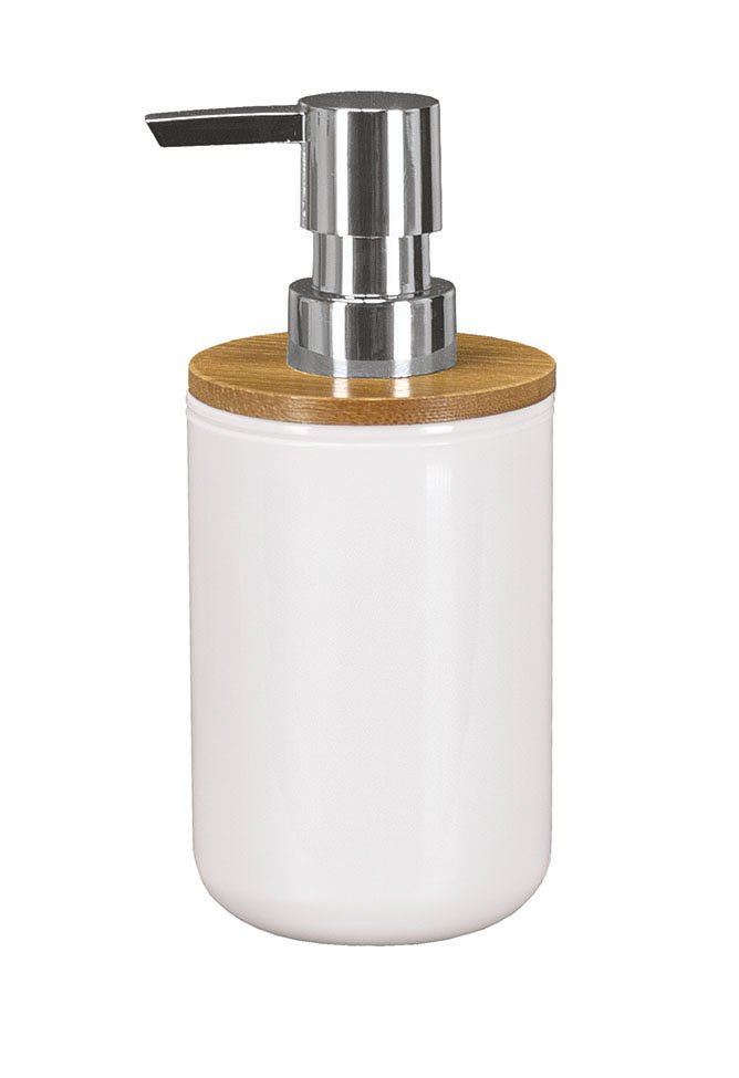 Seifenspender Timber Weiss B:7,2cm