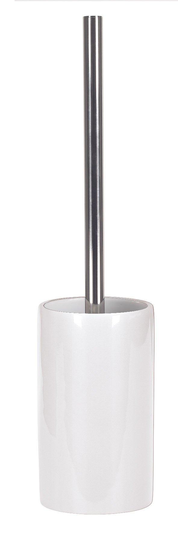 WC-Bürstenhalter Pur Shiny Schneeweiss B:8,5cm