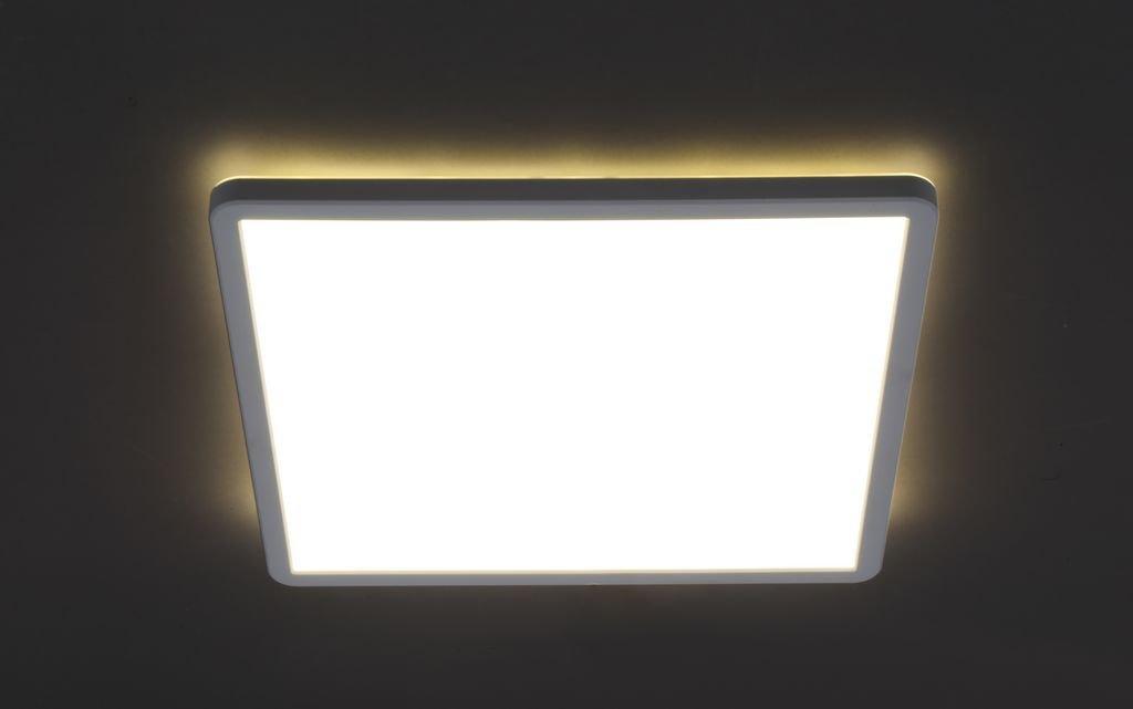 Panel, 1-flg.,LED, 18 W, 2400 lm, 4000 K, 29,3 x 29,3 x 2,8 cm, Weiß