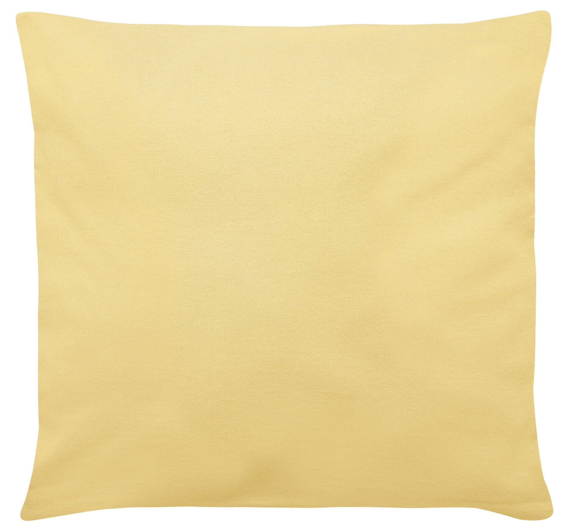 Edel-Zwirn-Jersey gelb B40cm