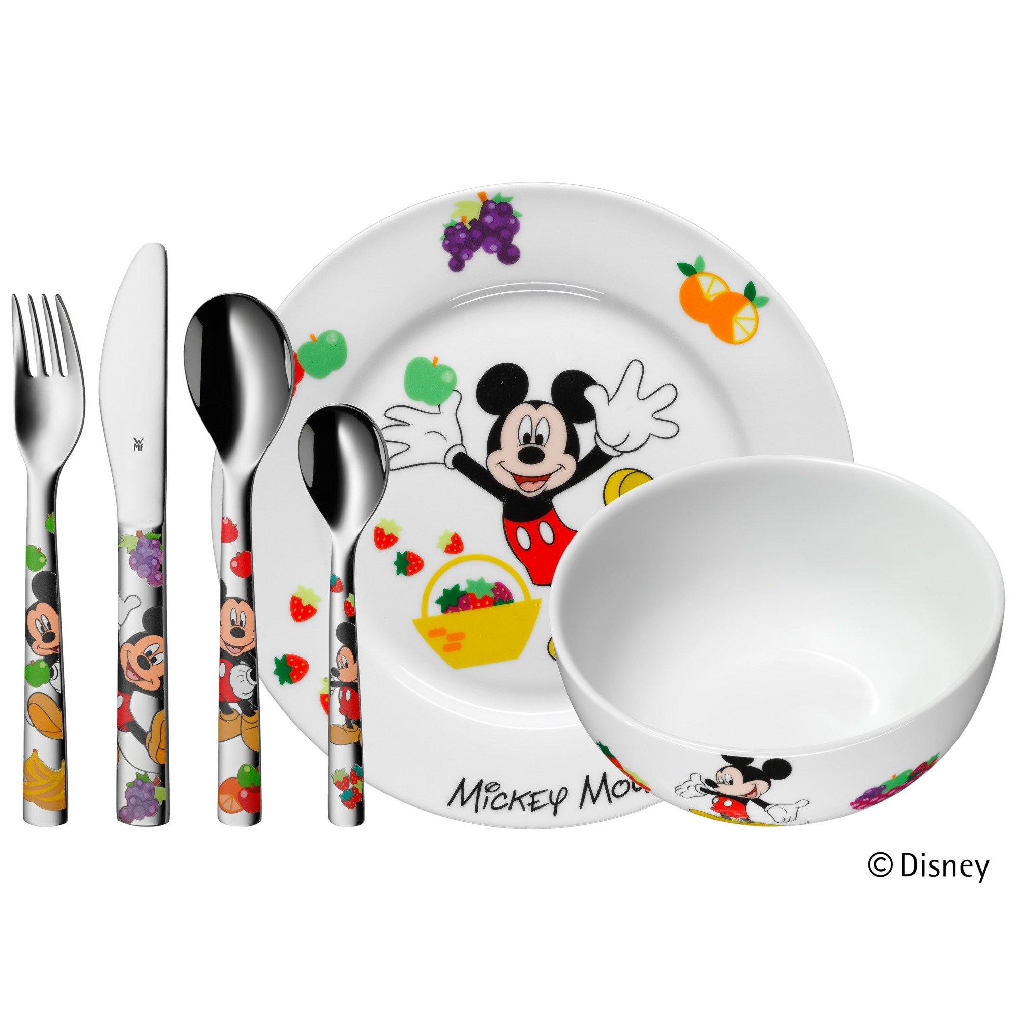 Kinderbesteck-Set 6-teilig Mickey Mouse