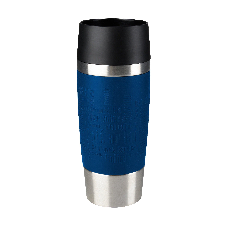 TRAVEL MUG Isolierbecher 0,36L Manschette blau Standard