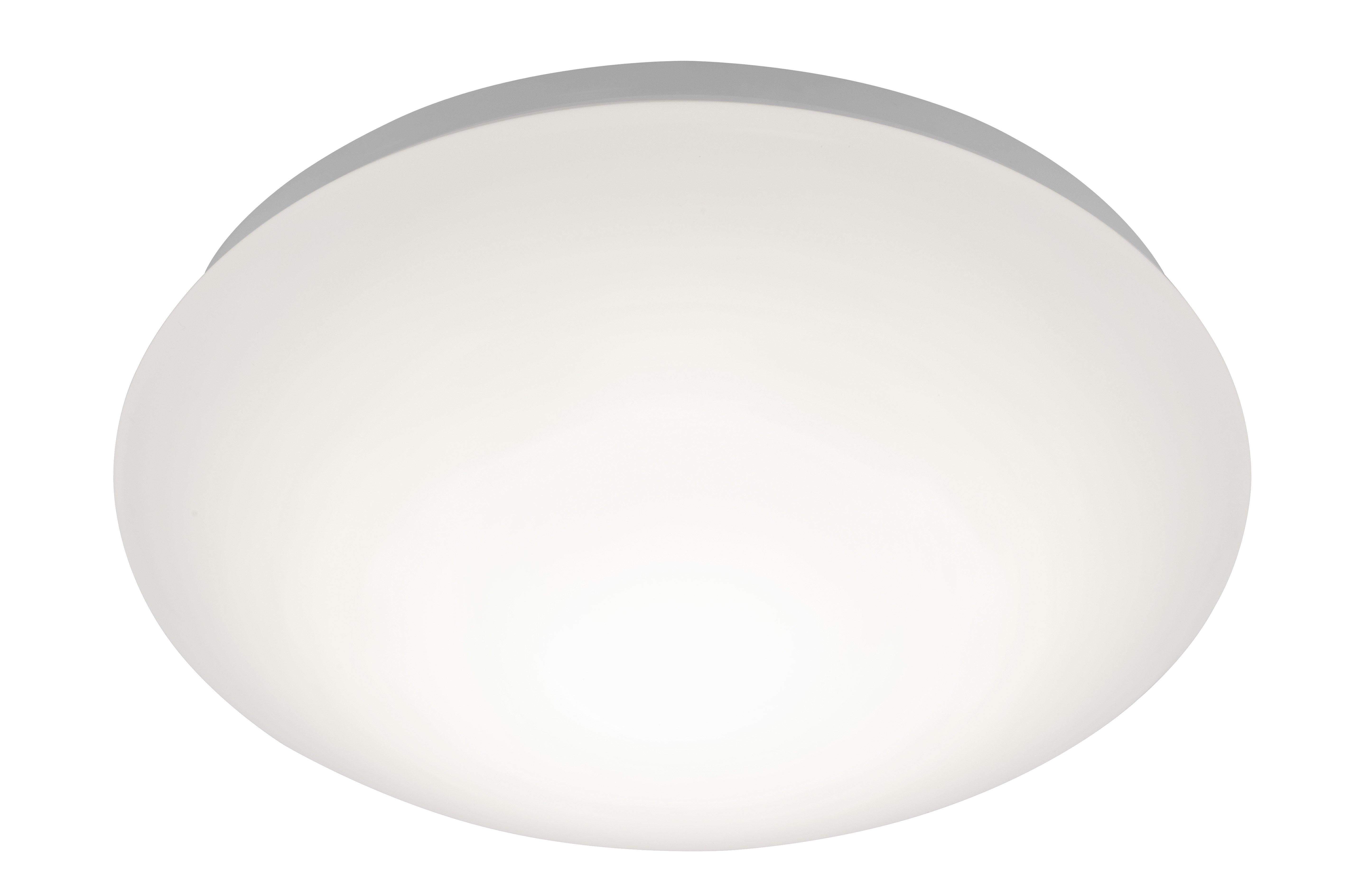 Wand-/Deckenleuchte H9,5 D28, Weiß