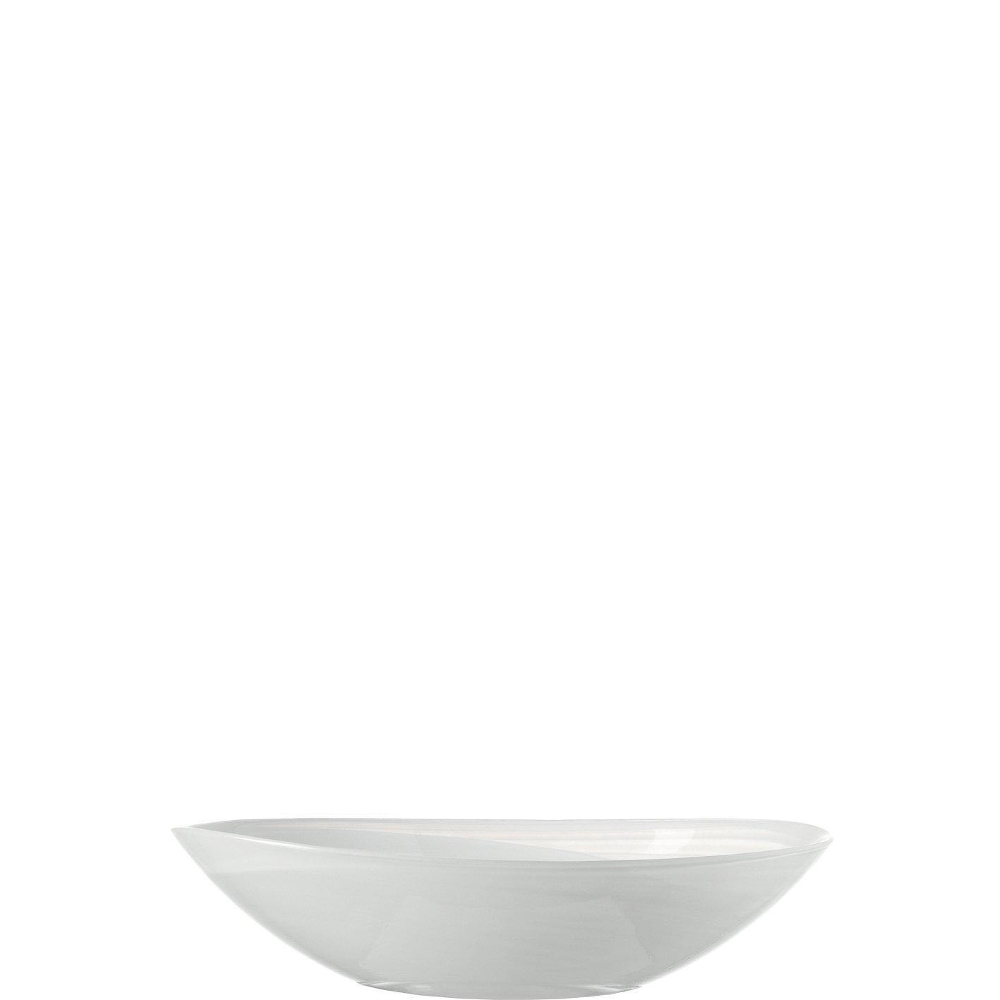 Schale oval 22 weiß Alabastro ALABASTRO