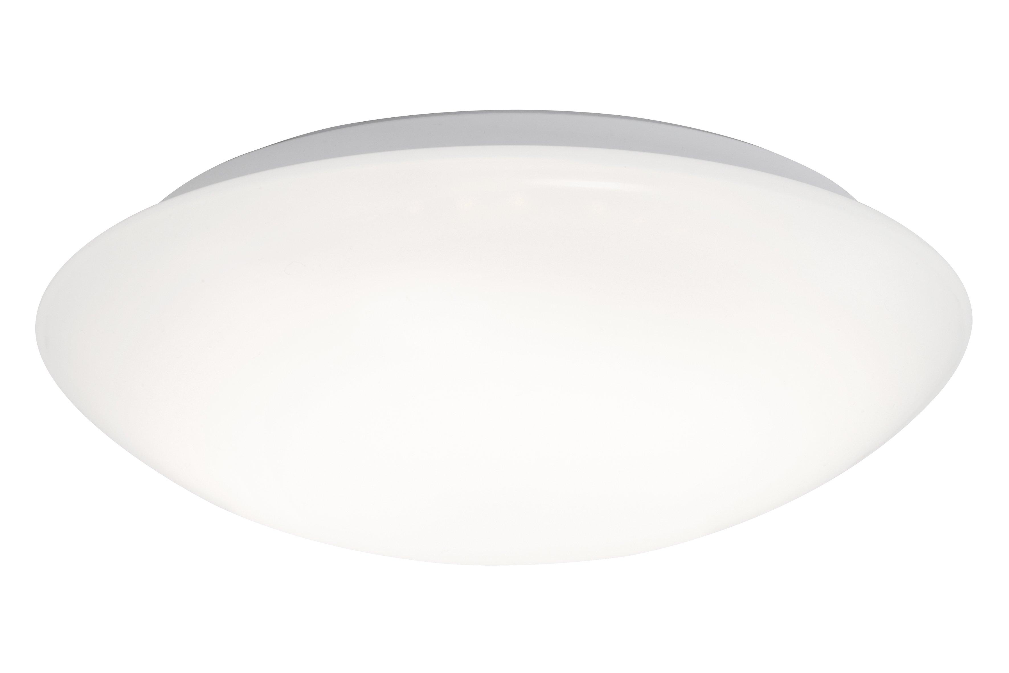 Wand-/Deckenleuchte H9,3 D29, Weiß