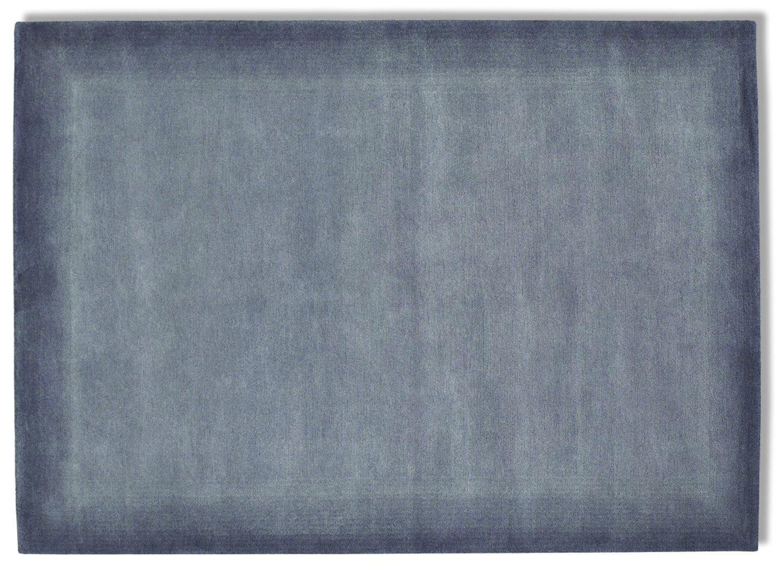 echter original handgeknüpfter Nepal-Teppich VINCIANO TAMI grau