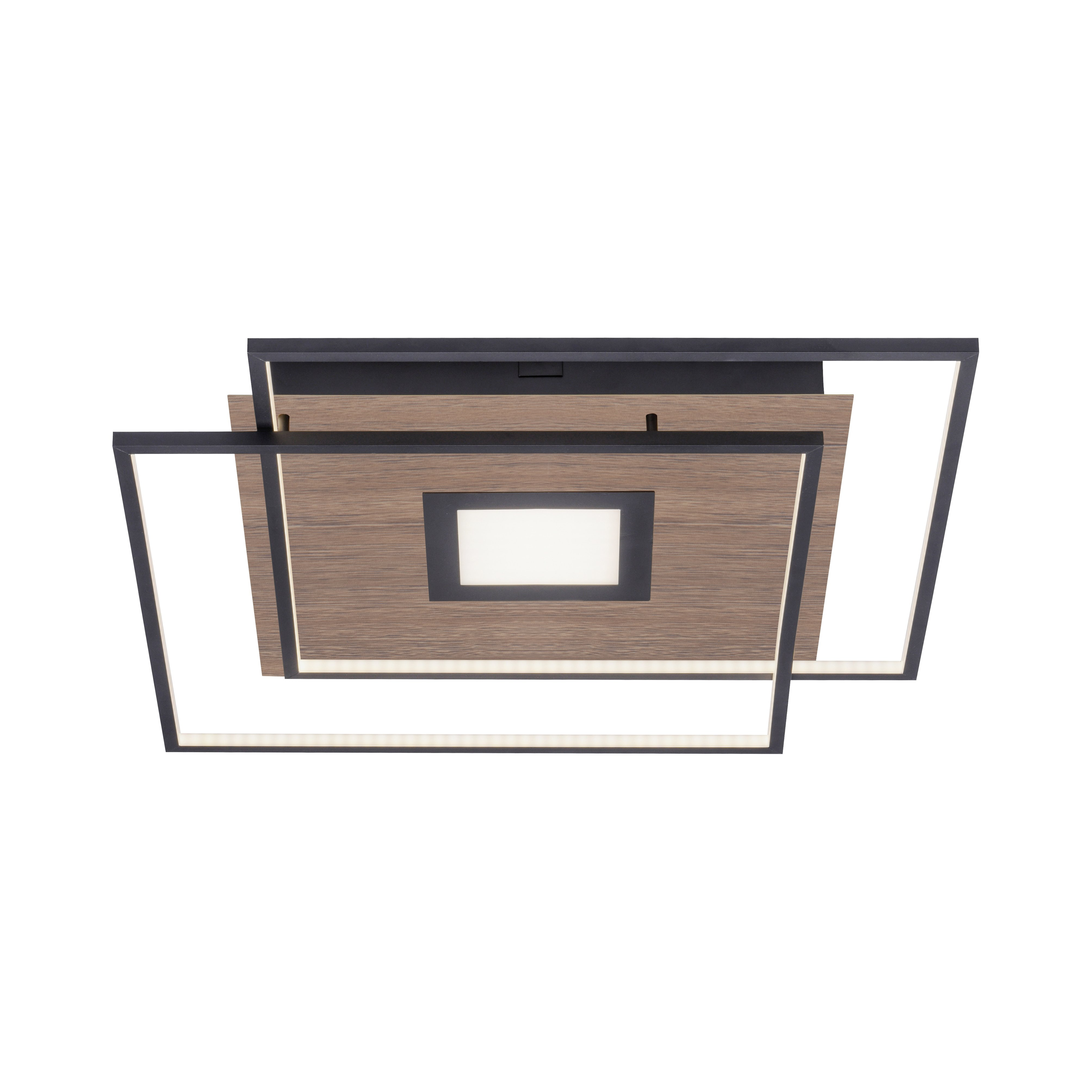 Deckenleuchte Q-AMIRA Holzdekor