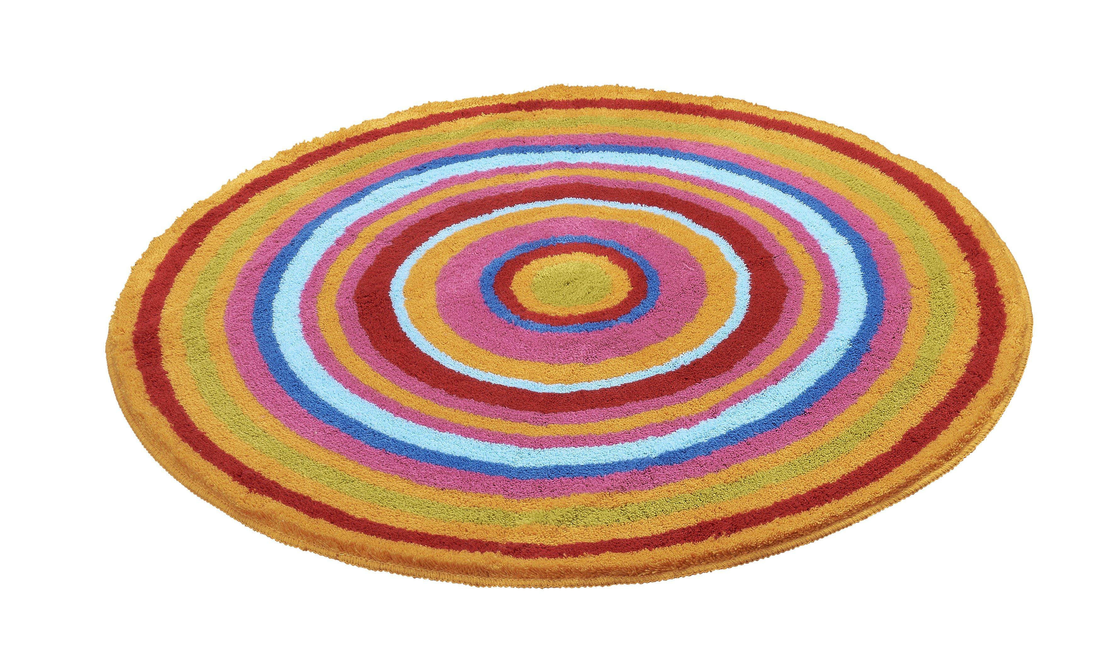 Badteppich Mandala Multicolor B:100cm