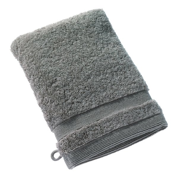 Waschhandschuh, 16x21cm, Grau